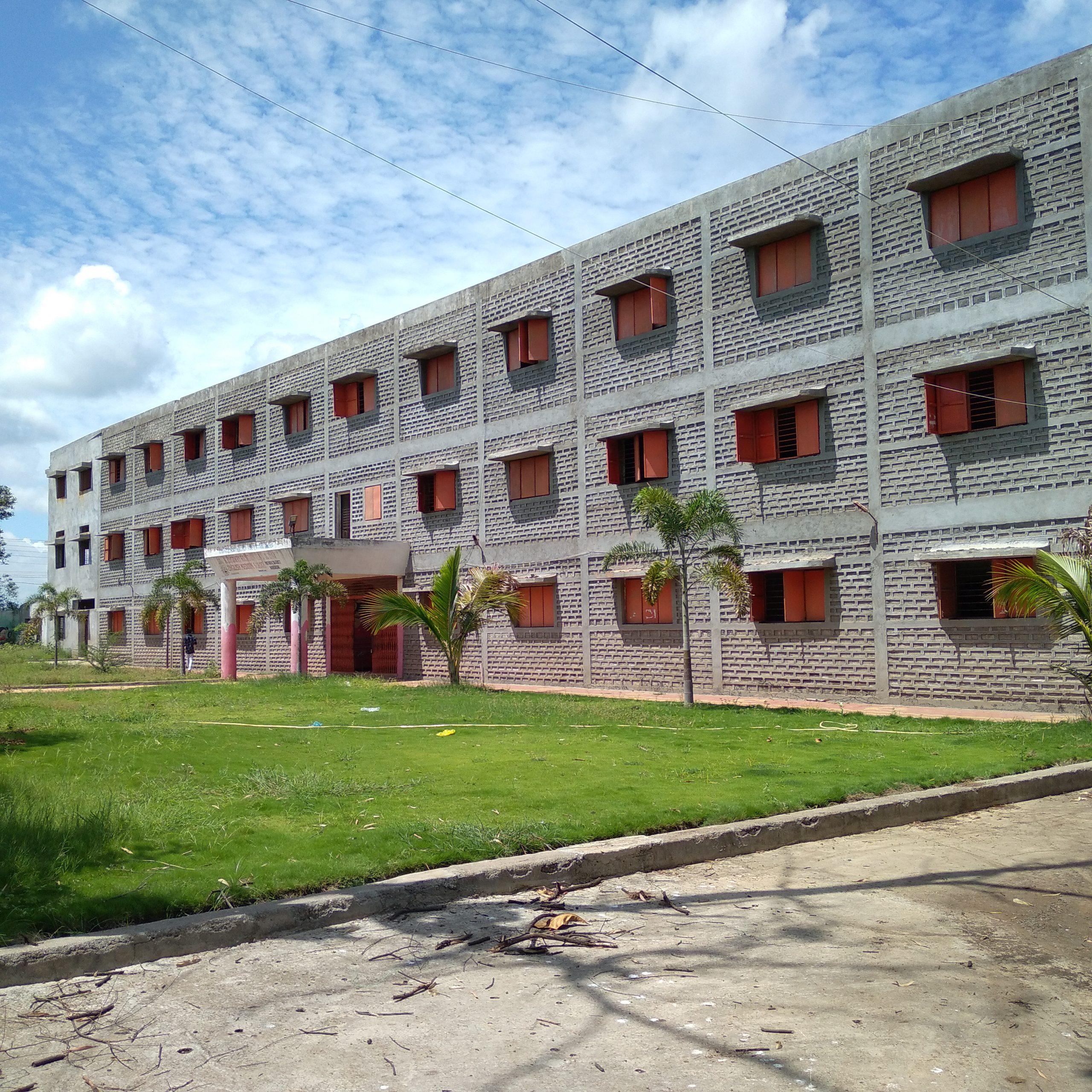 A hostel building