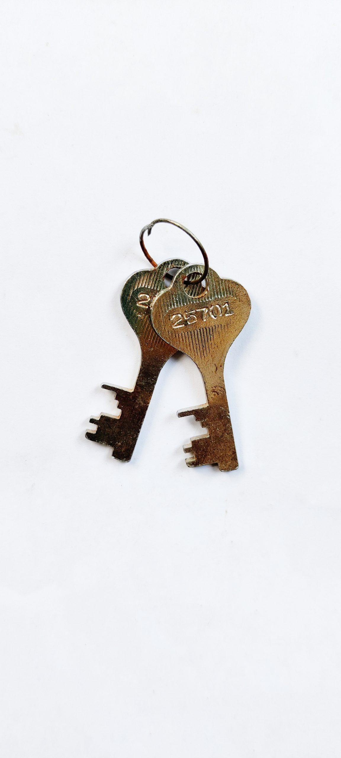 Keys of a lock