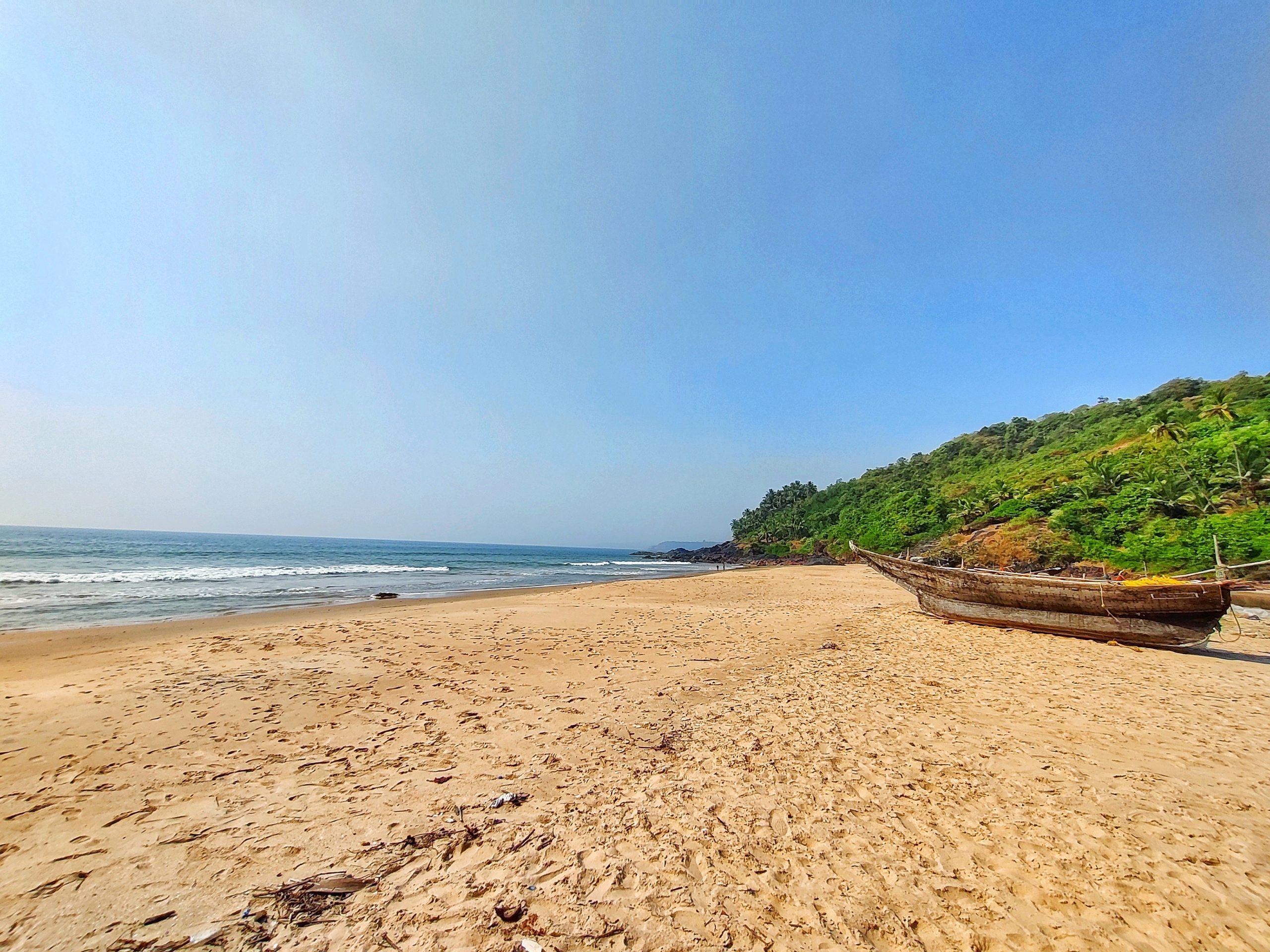 Kondura beach in Vengurla