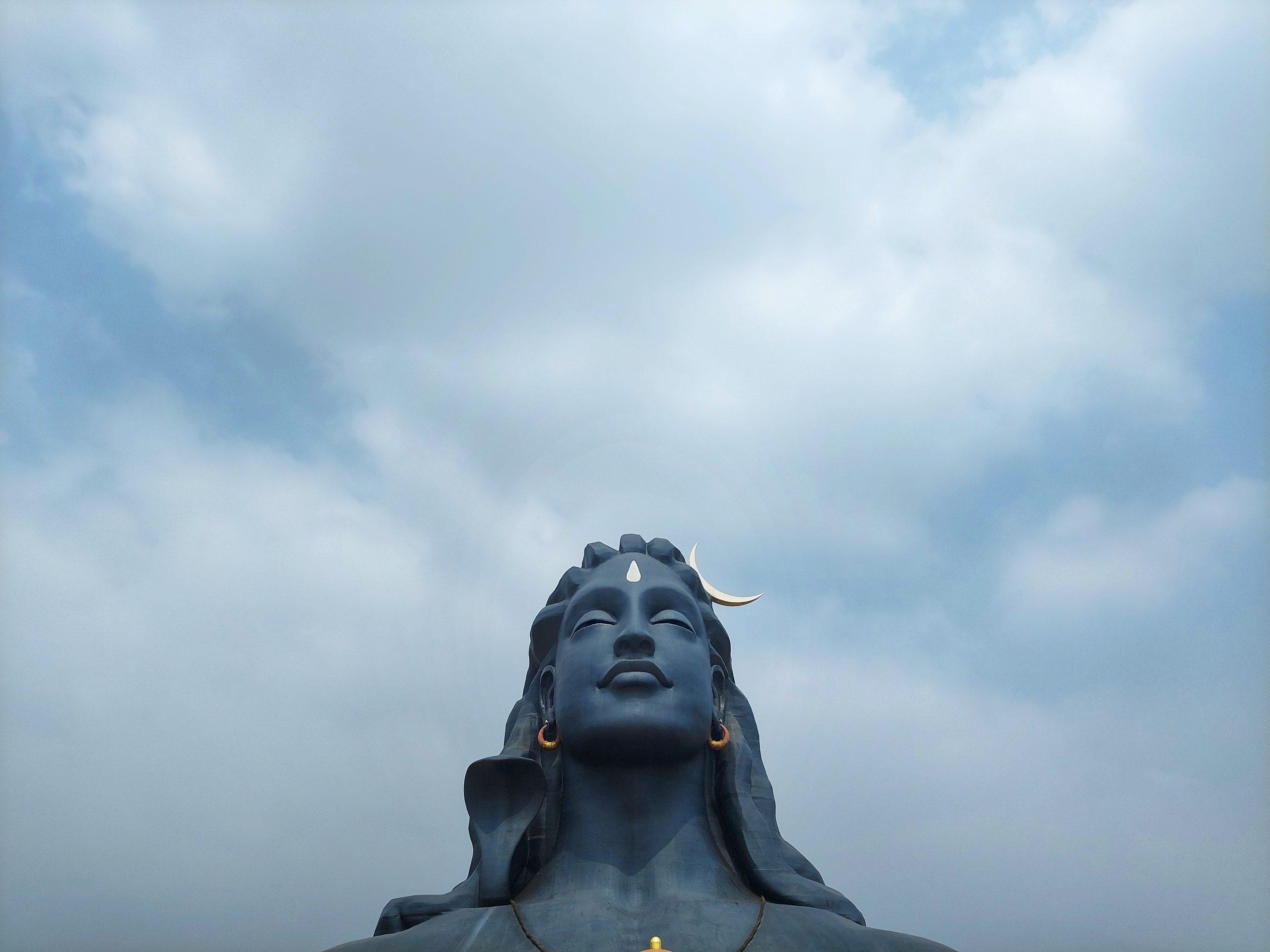 Lord Shiva statue Coimbatore