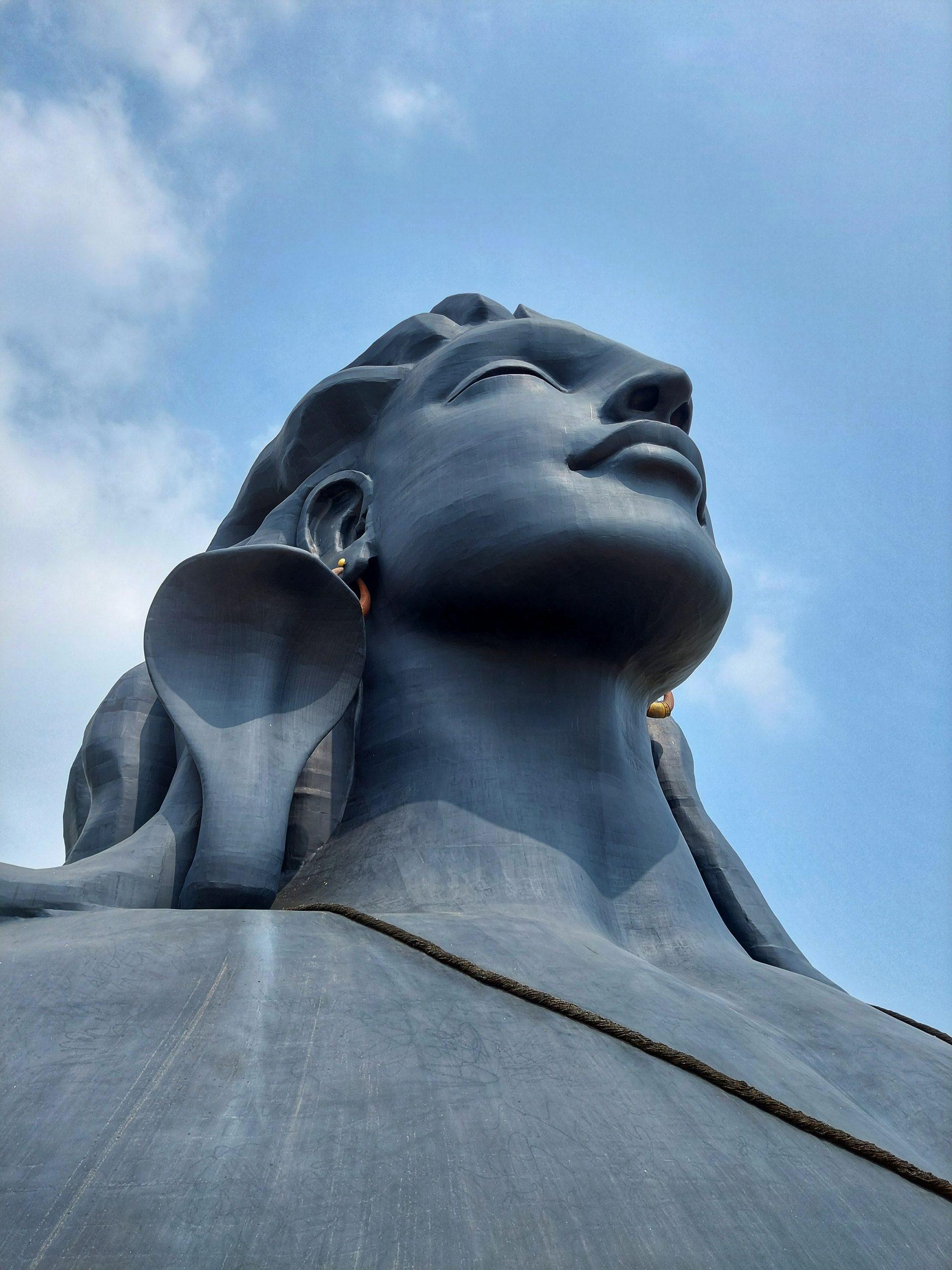 Lord Shiva statue Coimbatore, Tamil Nadu