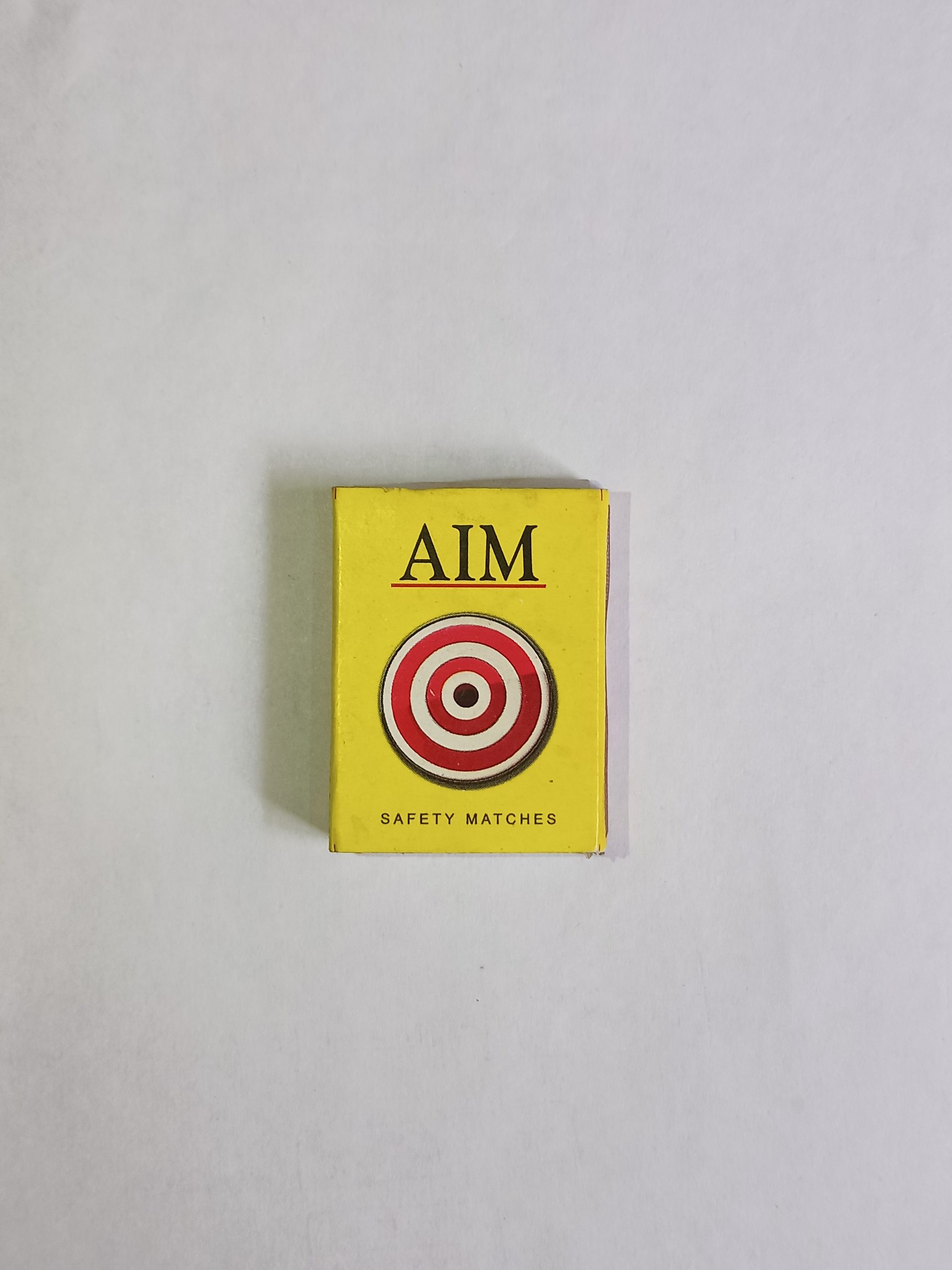 Aim match box