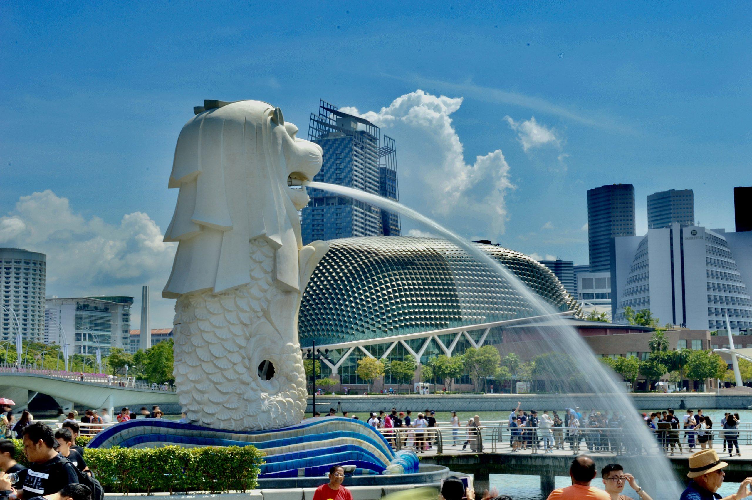 Merlion at Singapore