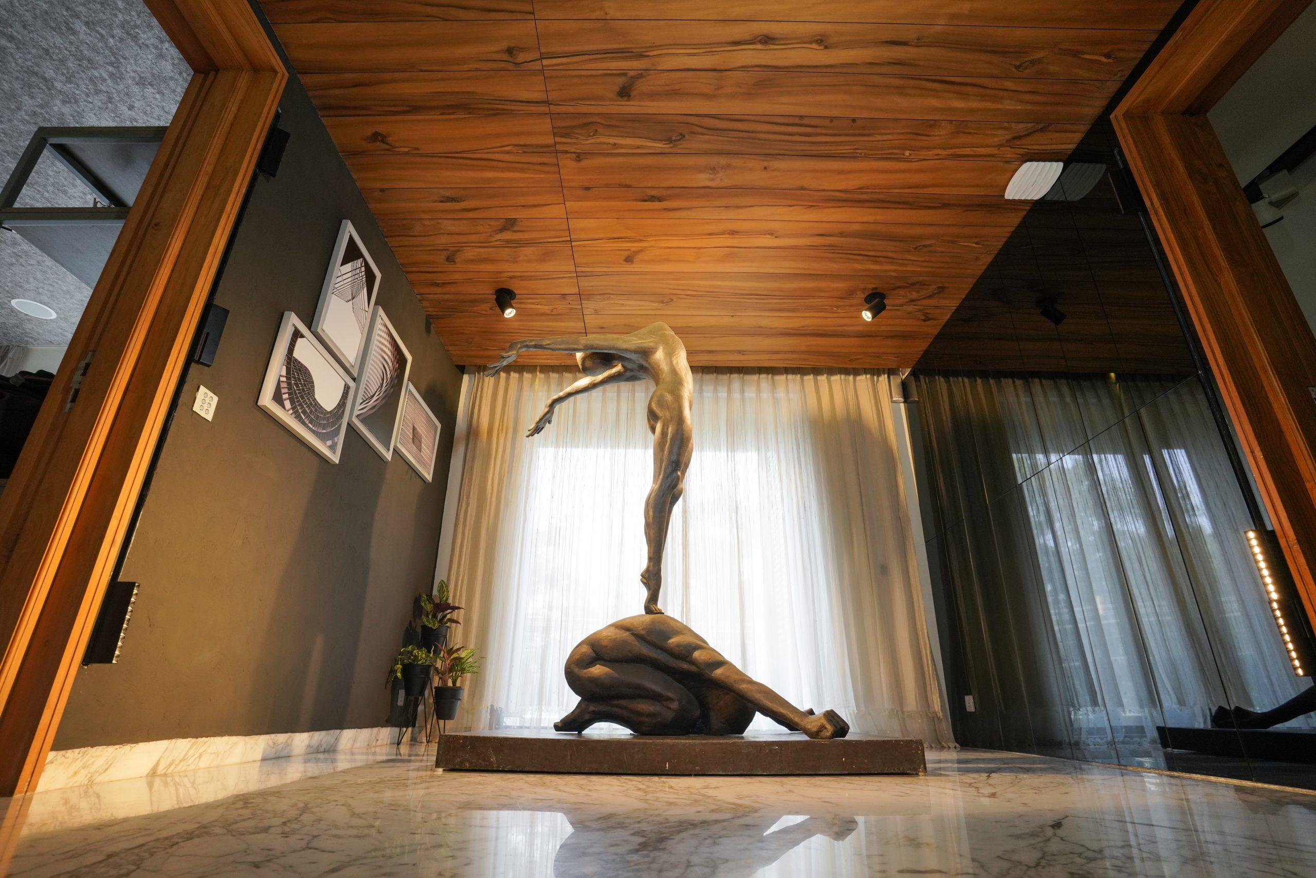 Modern art in house