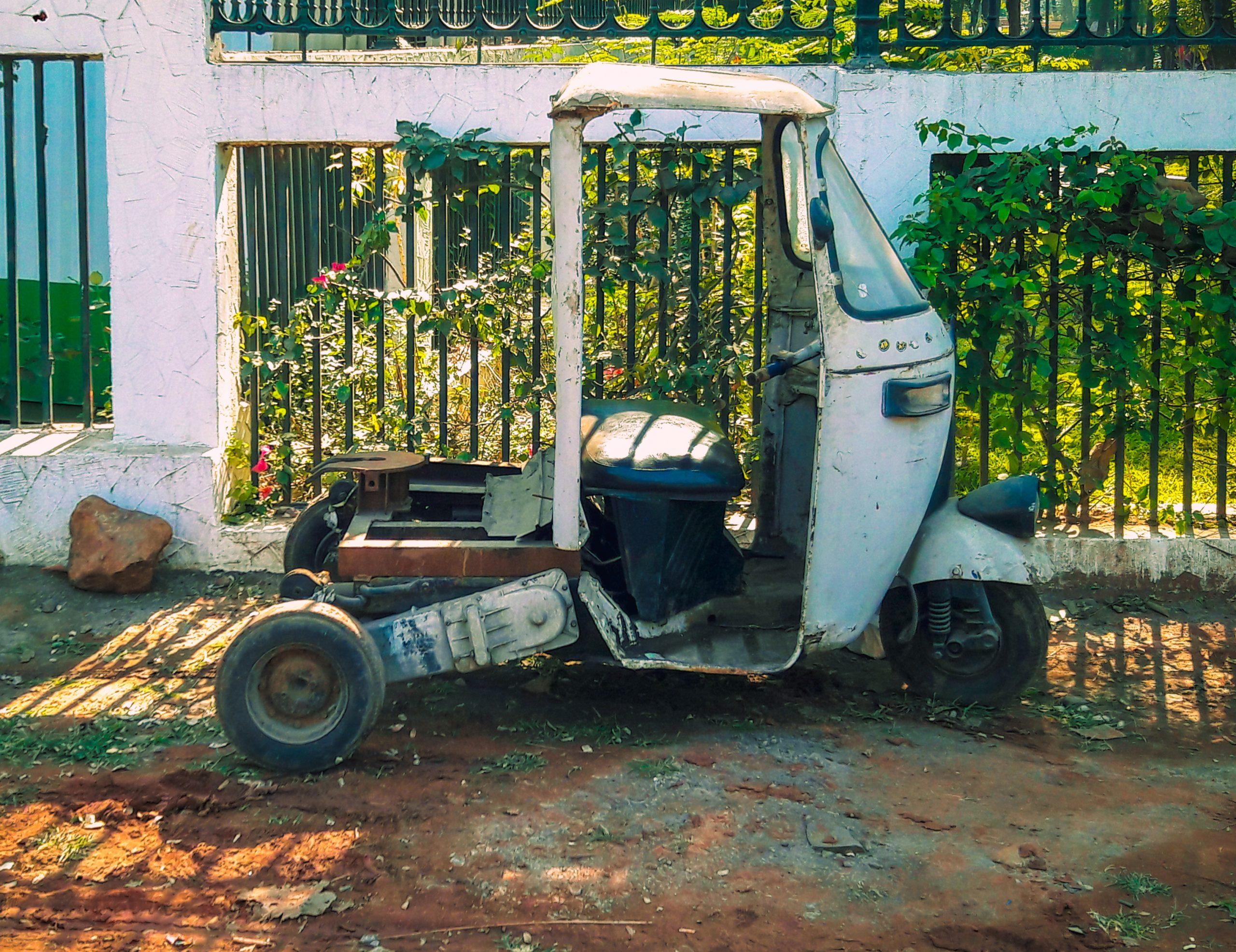 Old Auto rickshaw