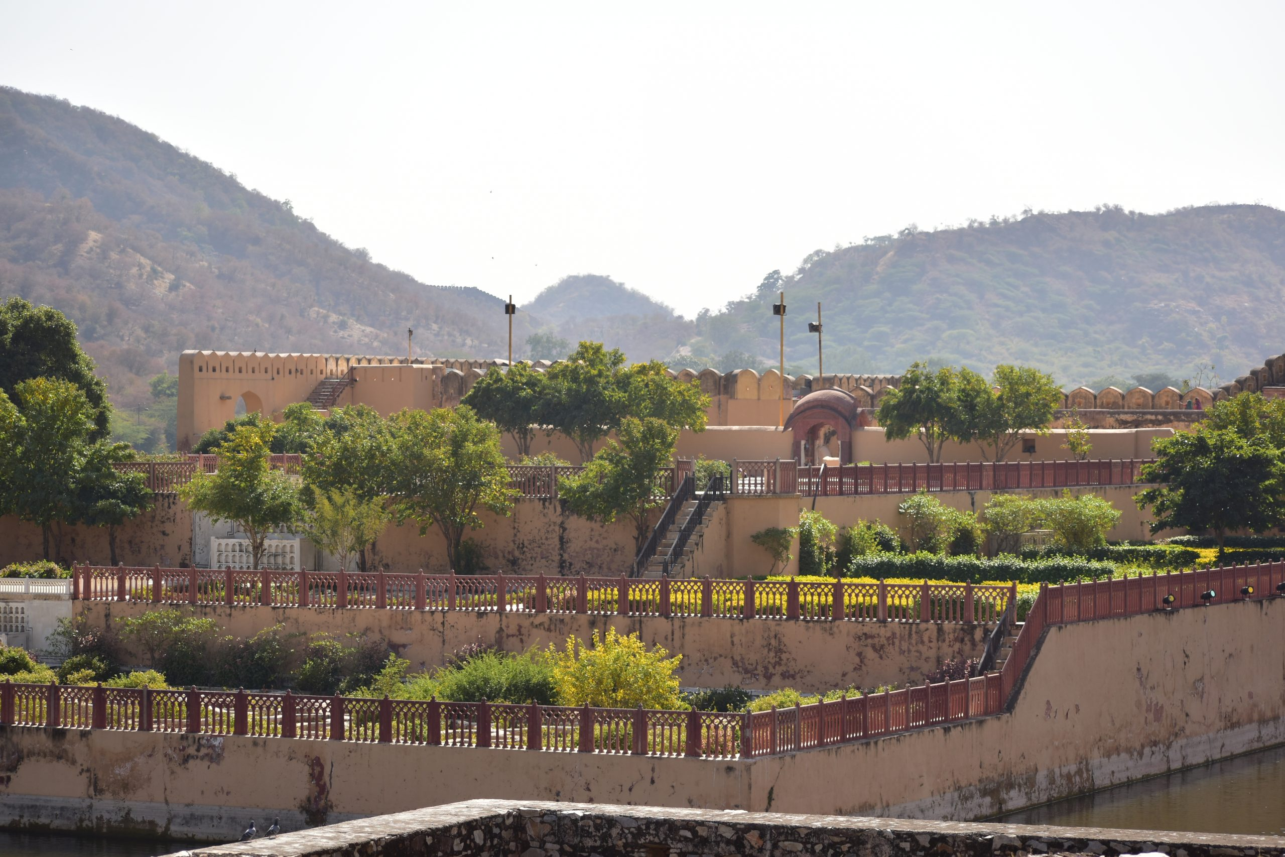Park at Amer fort