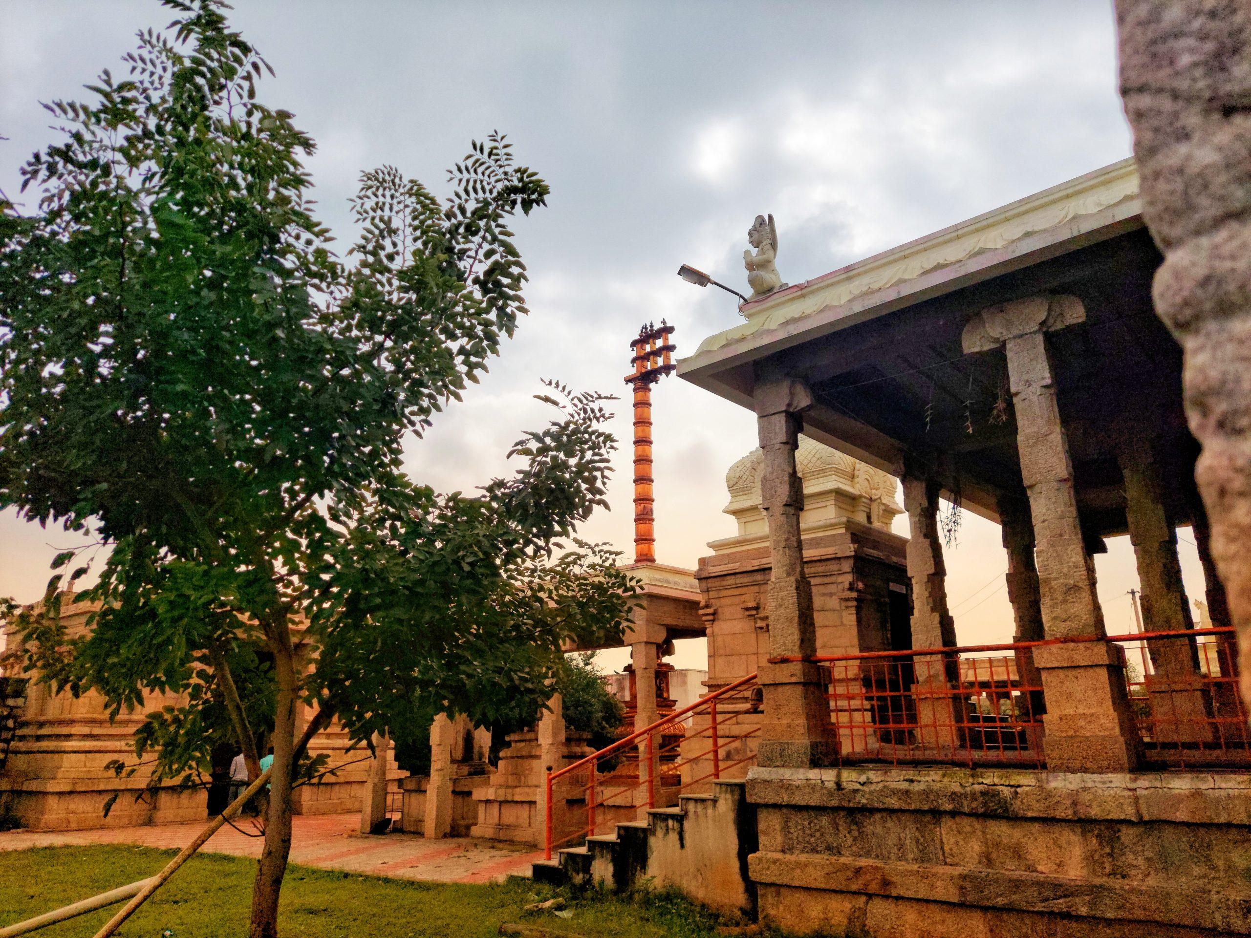 Temple landscape
