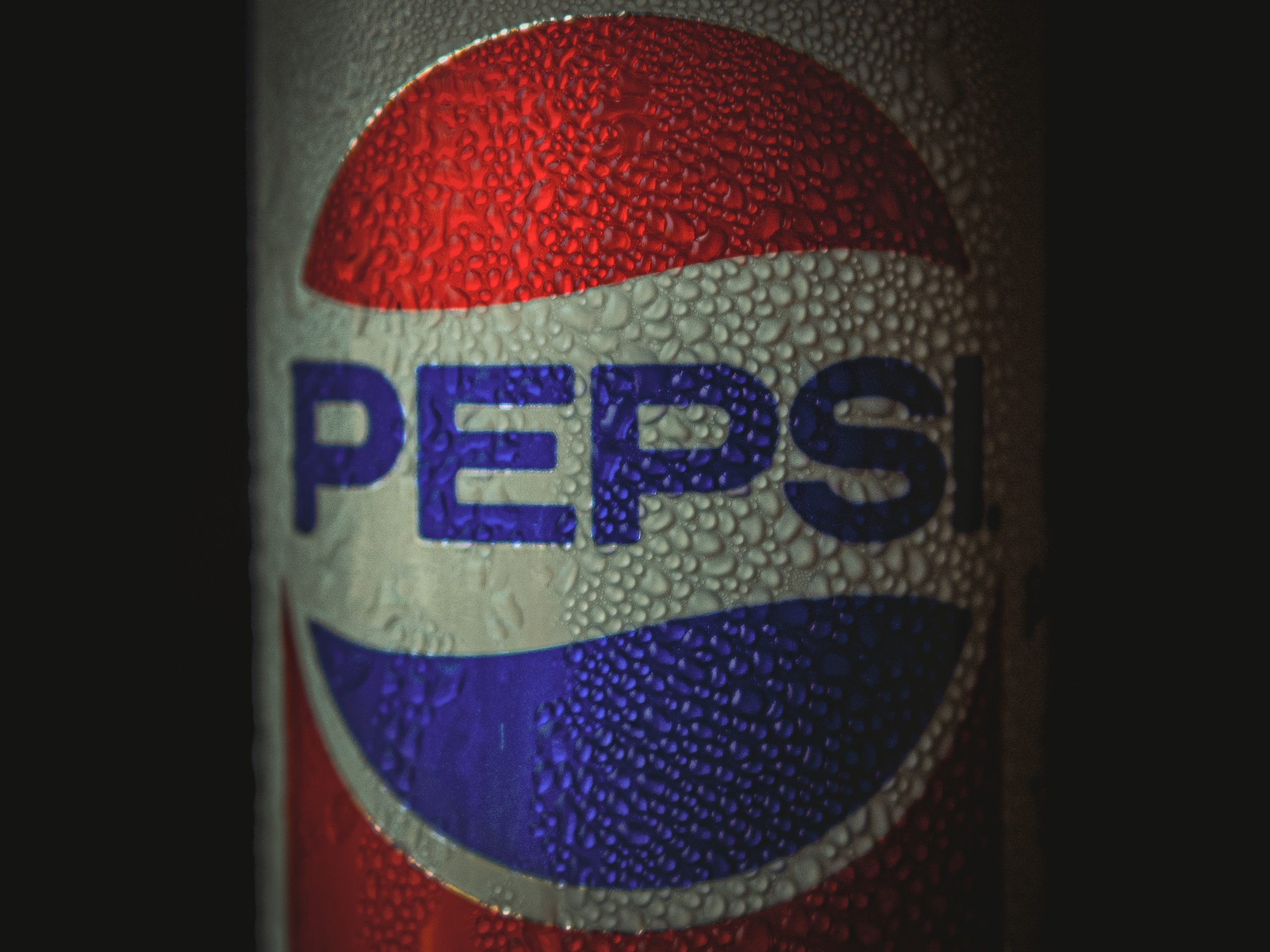 Moisture on a Pepsi can