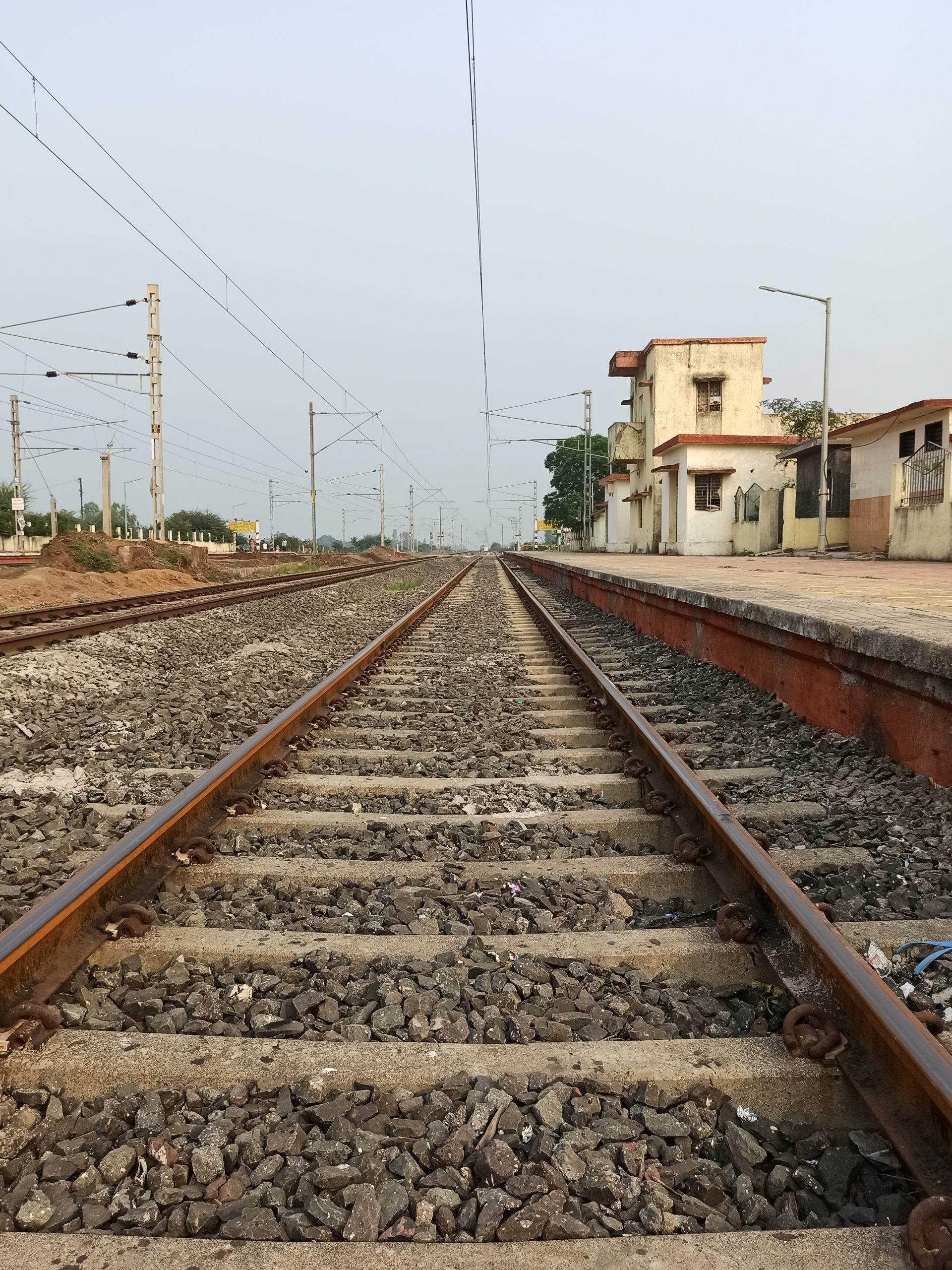 Railway station view