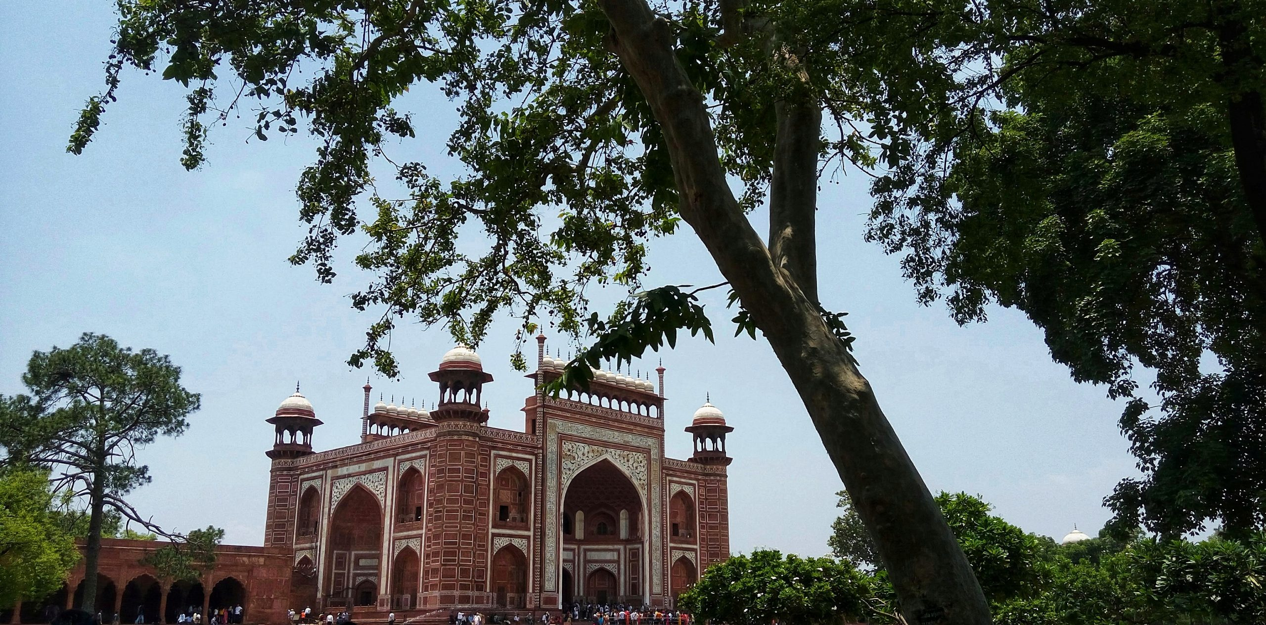 Red fort monument
