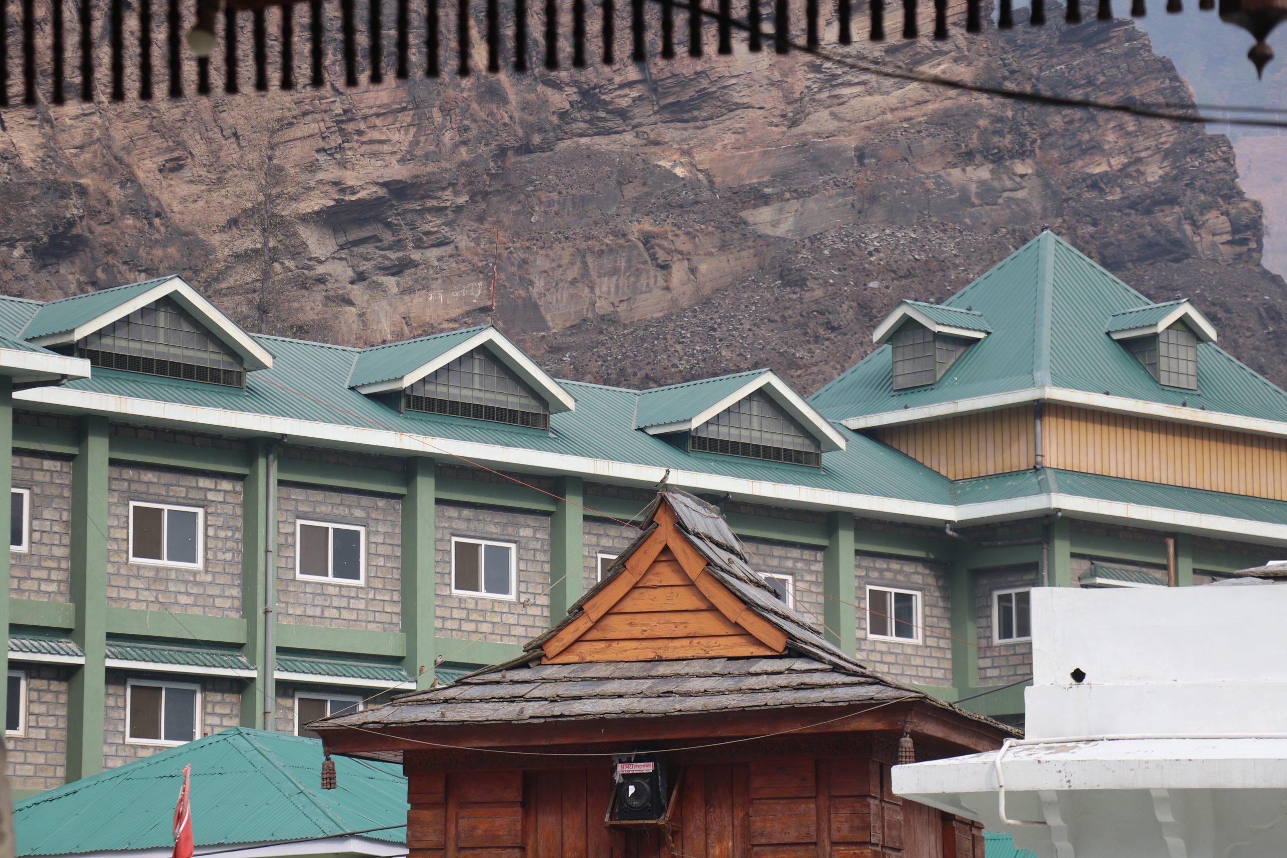 Restaurant in hills
