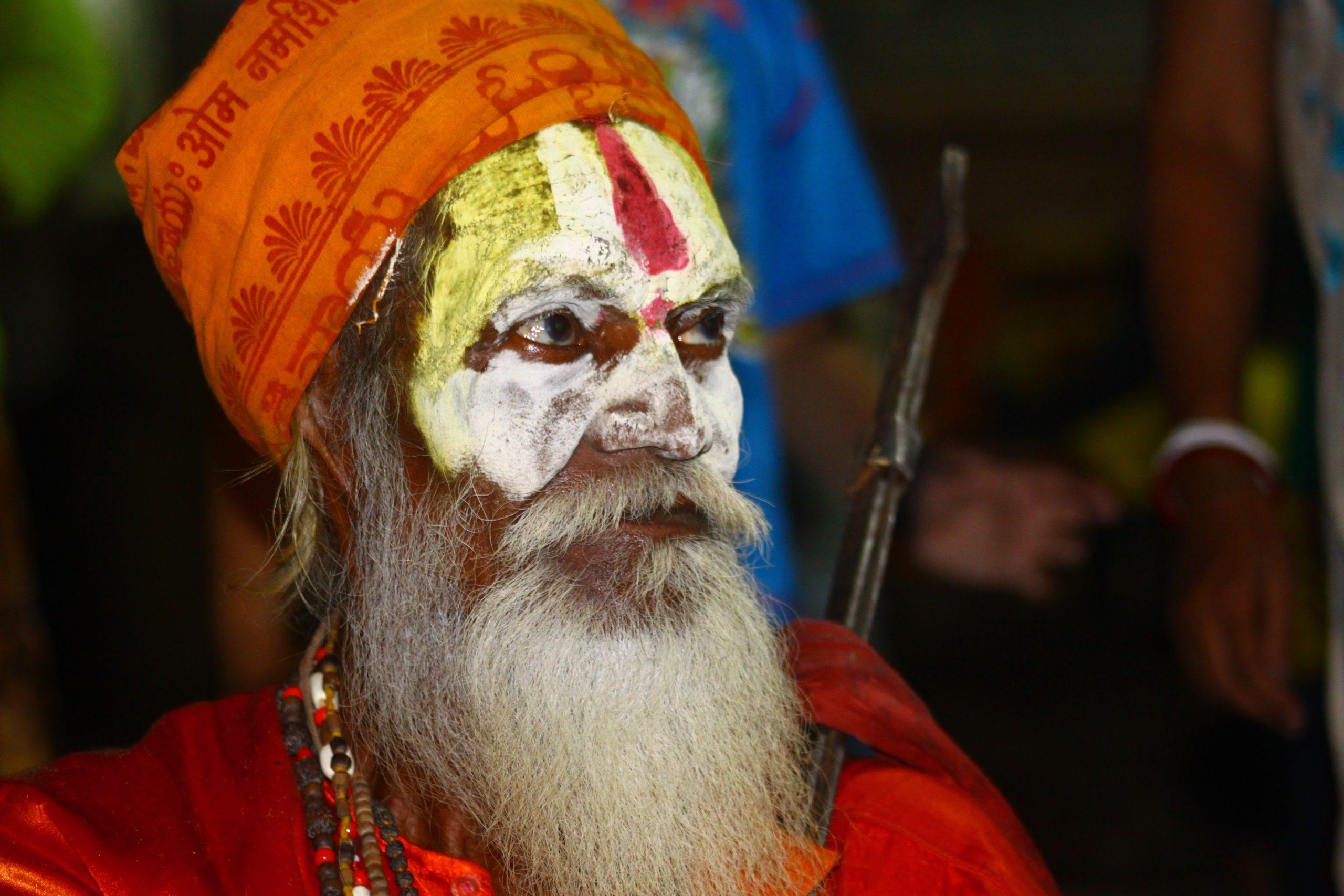 A monk in Varanasi