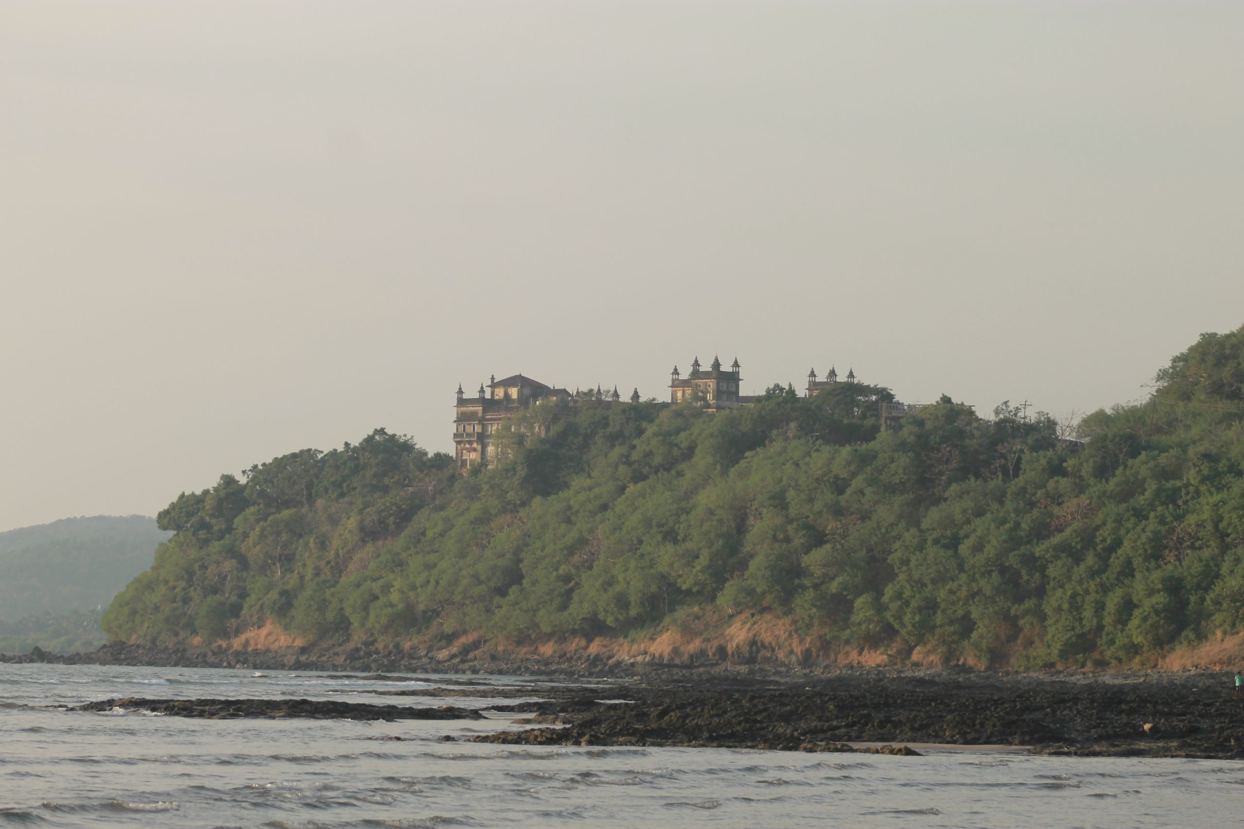 Palace view from river site