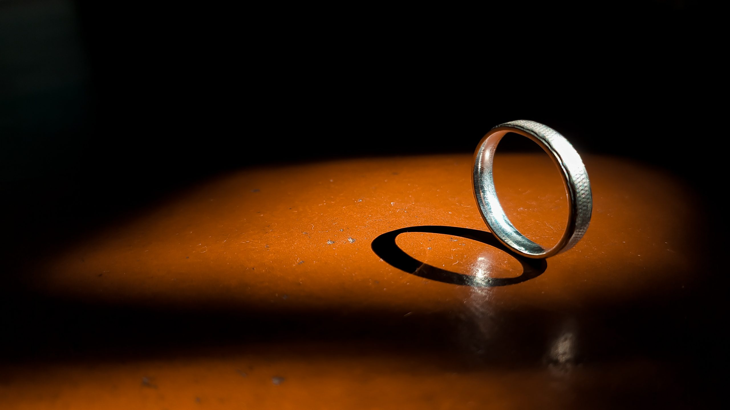 Shadow of a ring