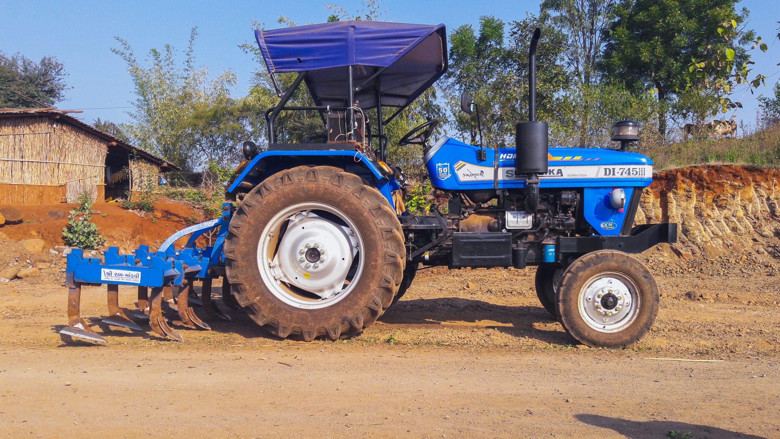Sonalika farming Tractor