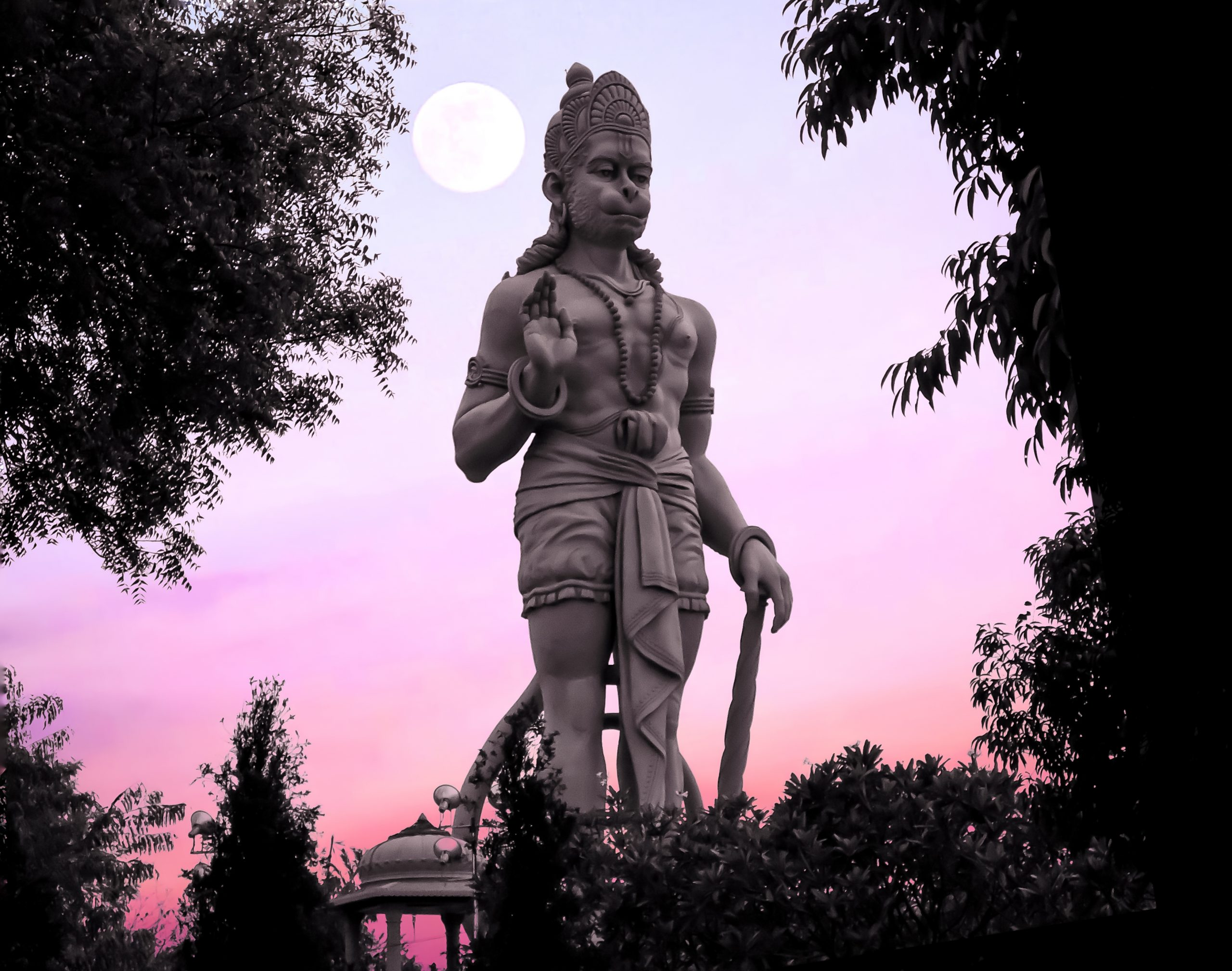 Statue of Lord Hanuman