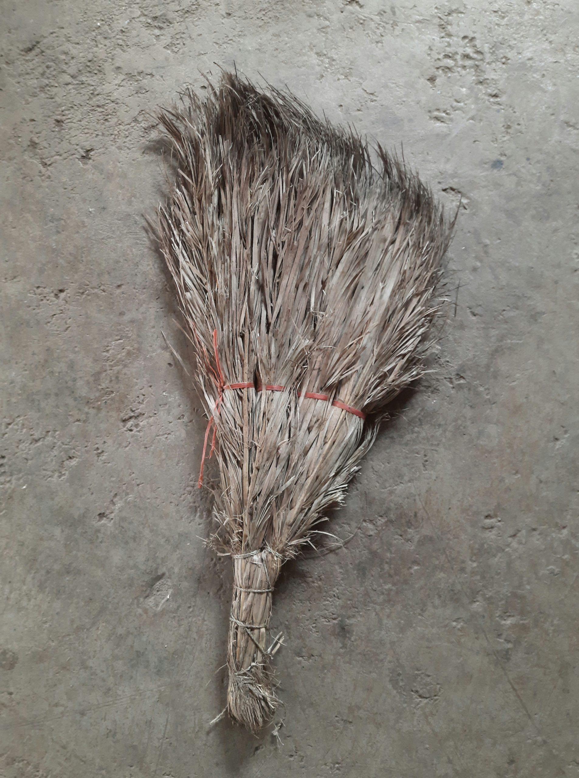 Broom on floor