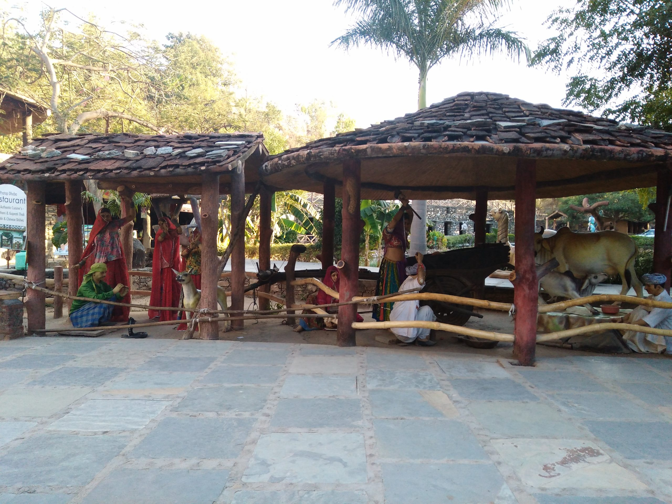 A village showcase