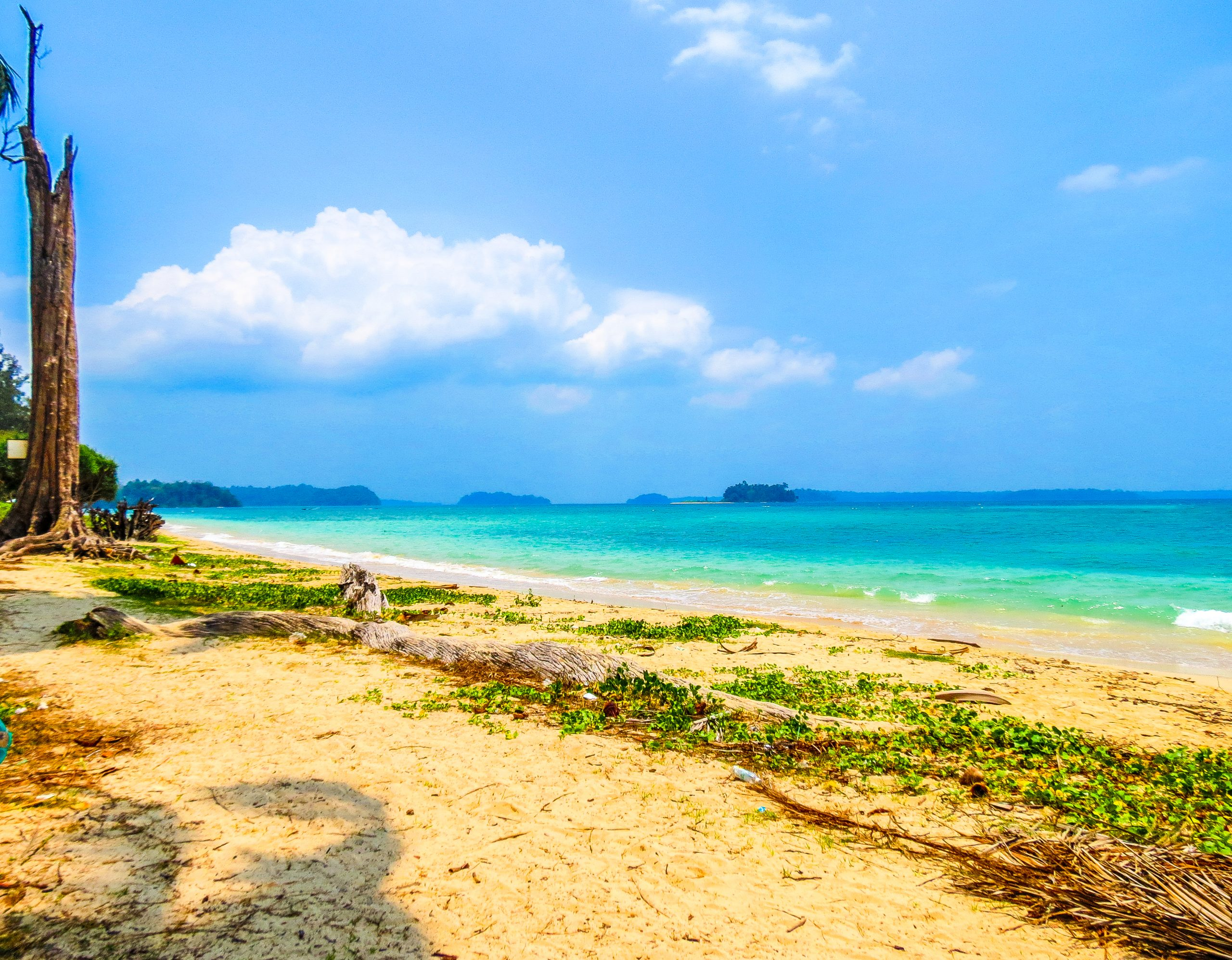 Beach view of Andaman