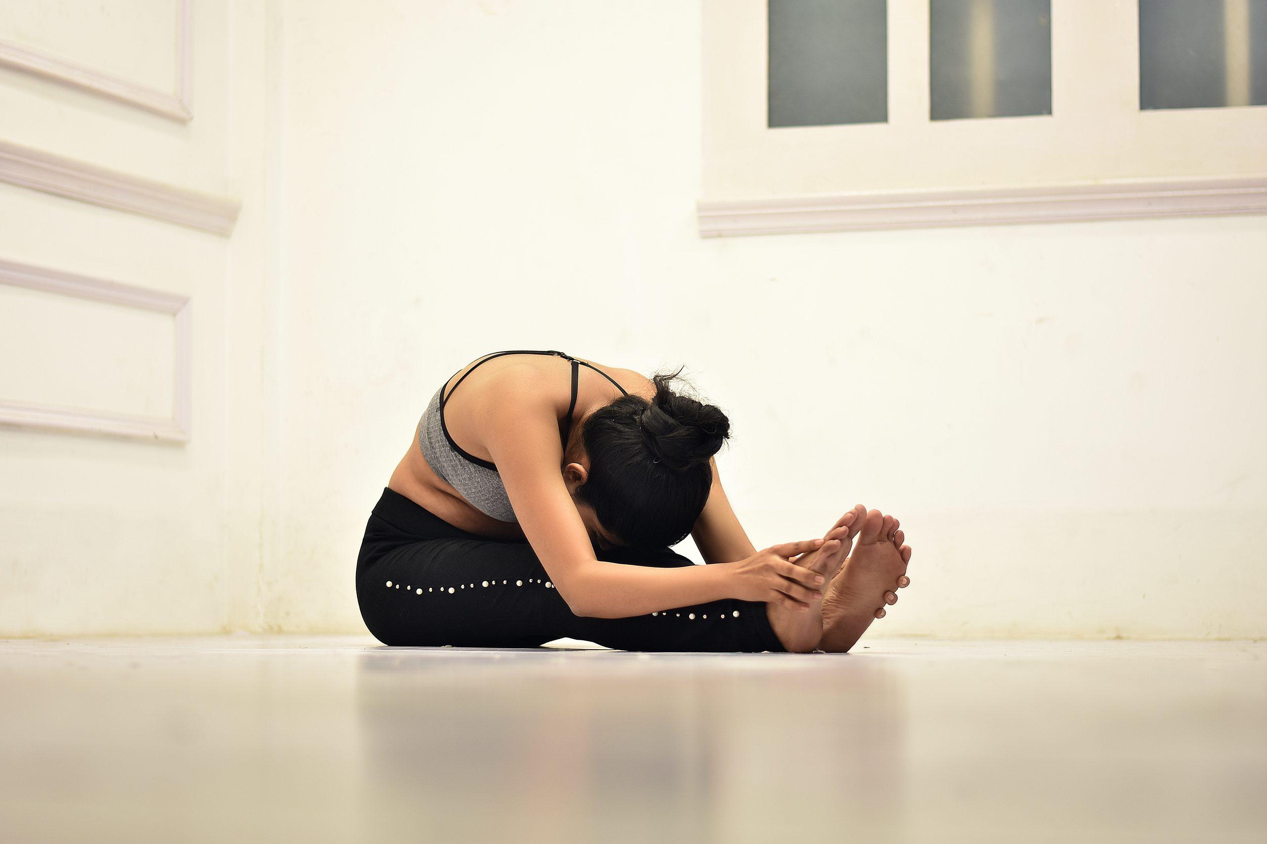 Yoga Seated Forward Bend - Paschimottanasana