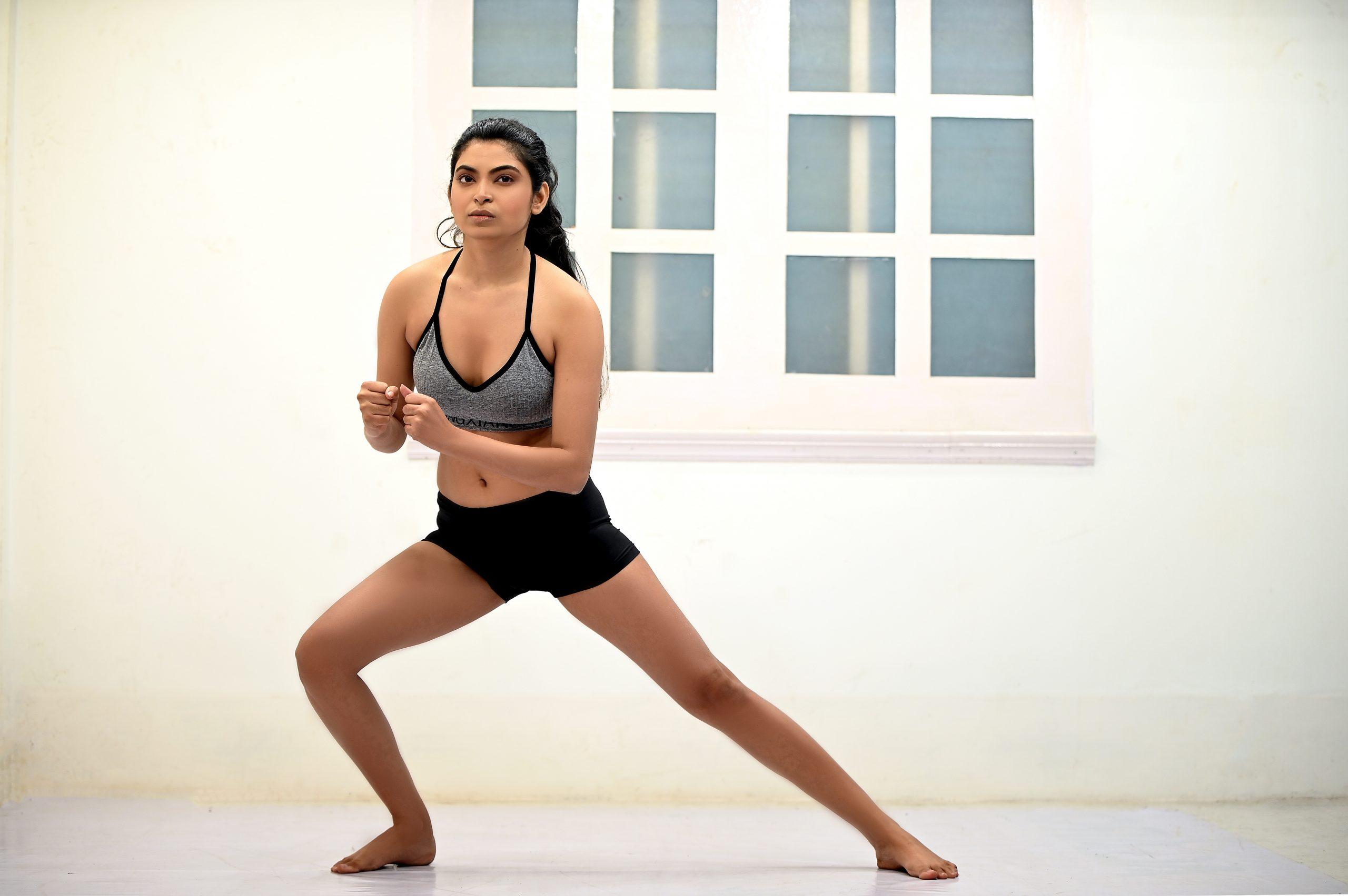 Yoga Side Angle Pose Utthita Parsvokonasana