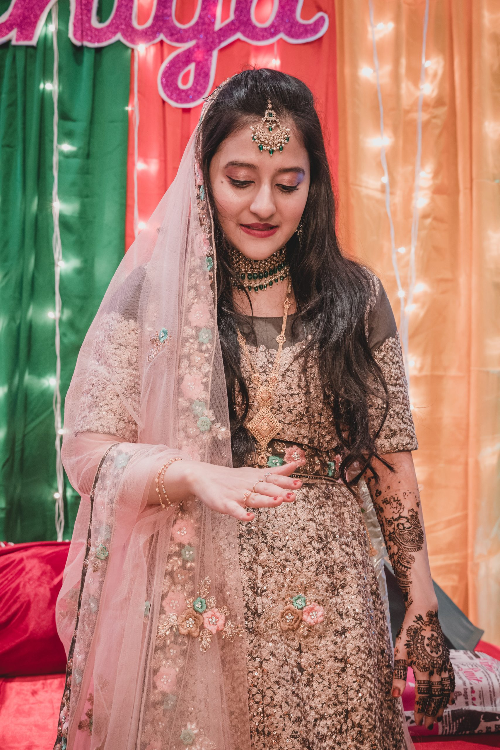 An Indian bride