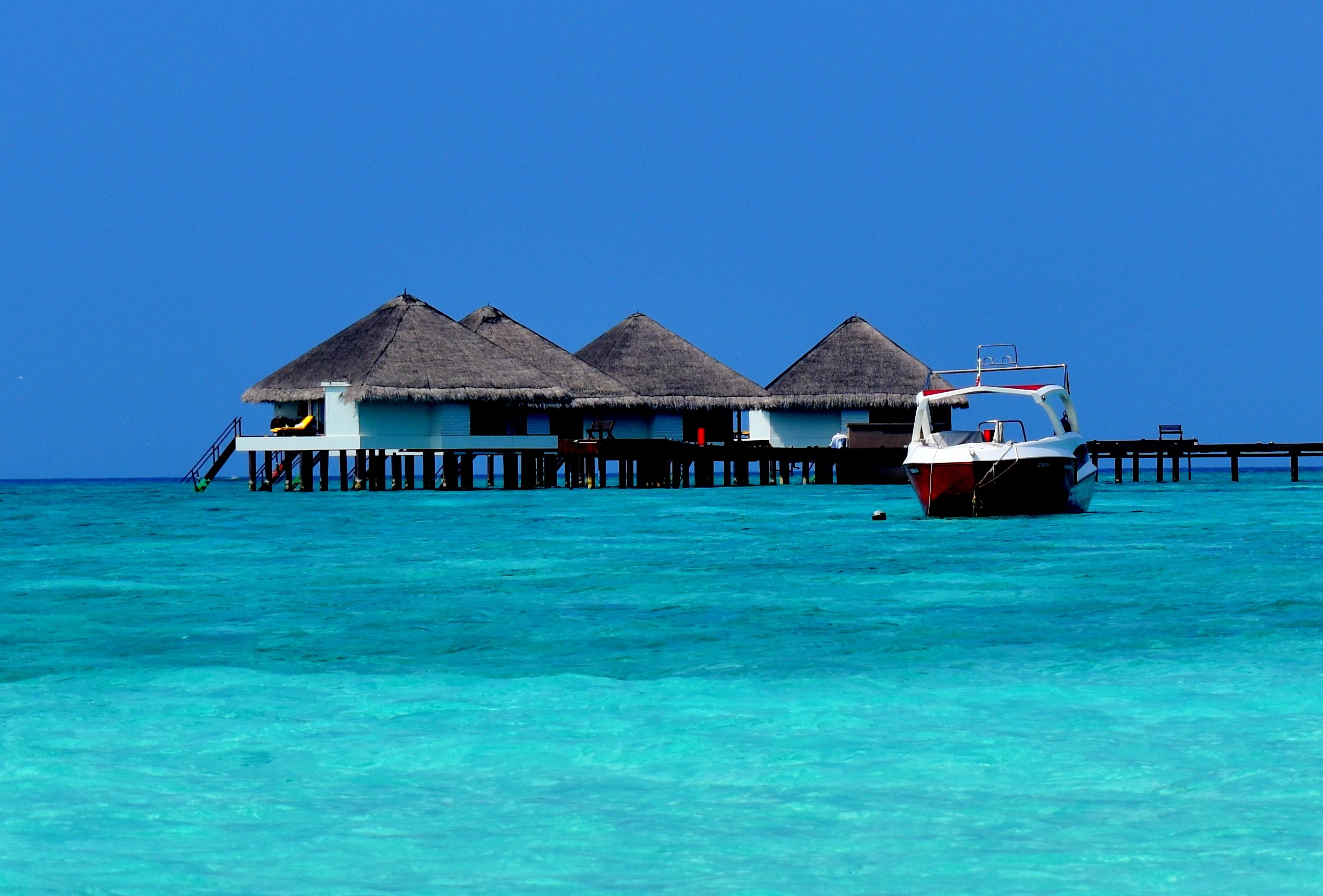 A Water Villa in a Maldives