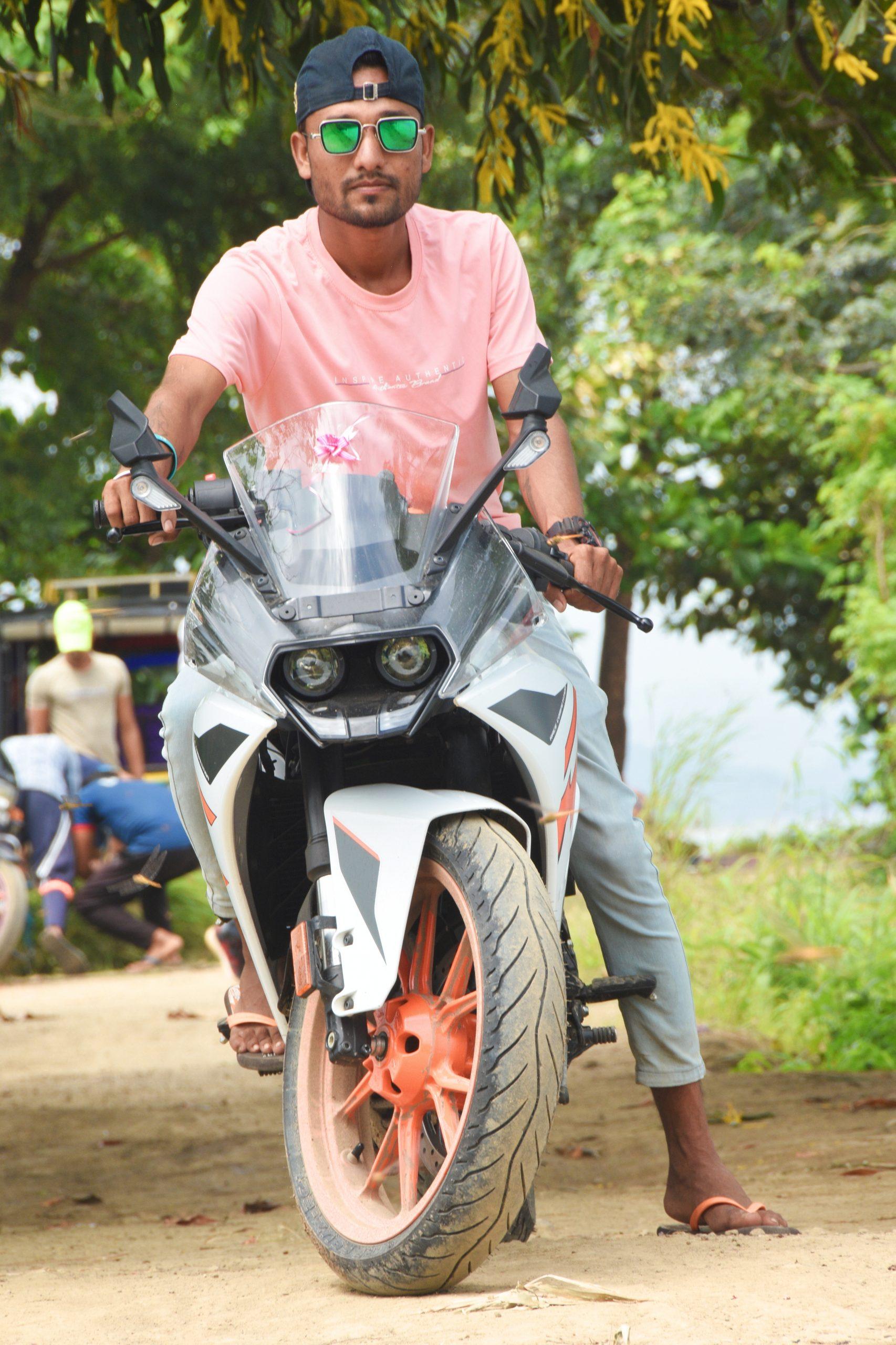 A bike rider