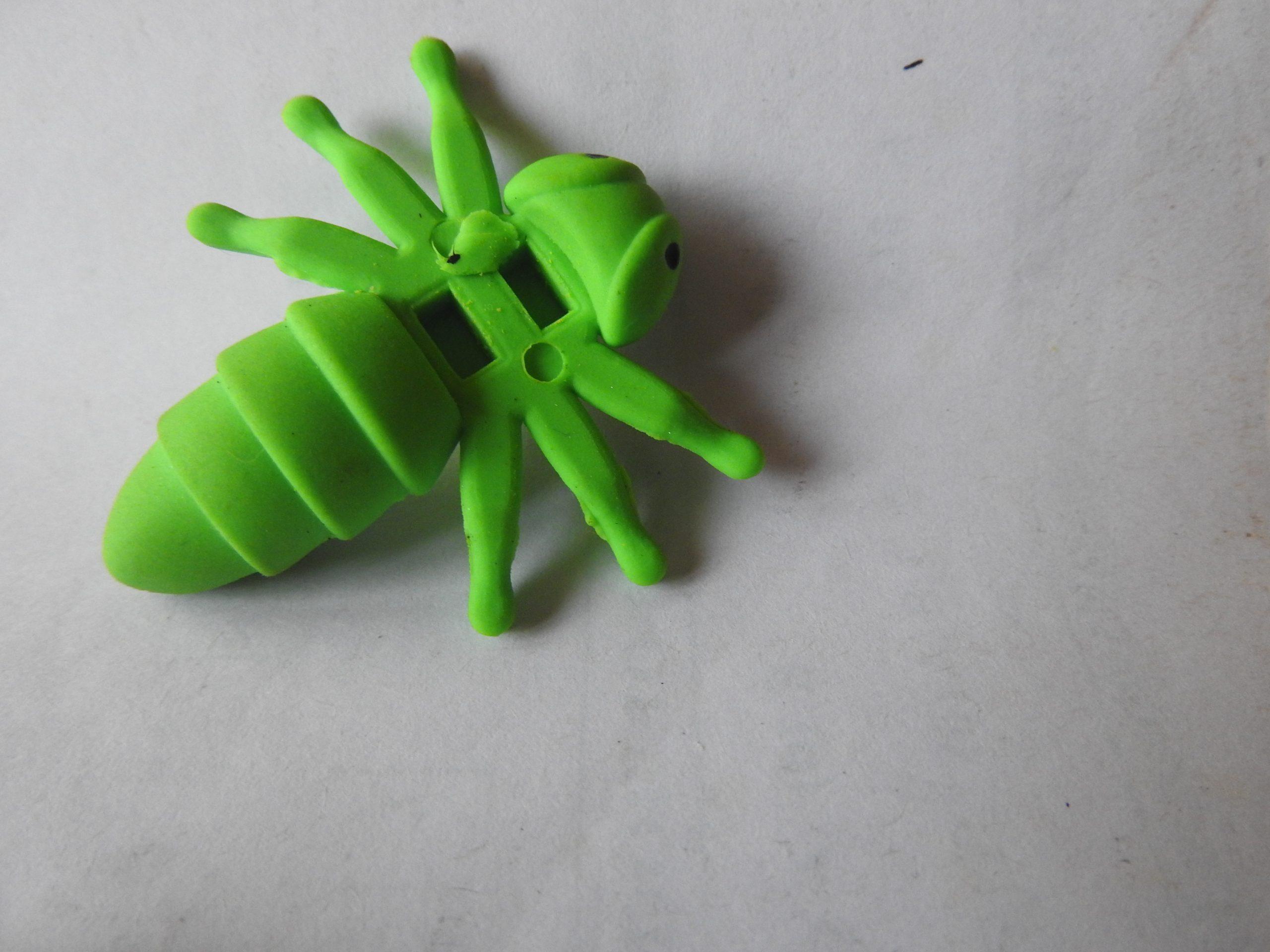 A bug like rubber