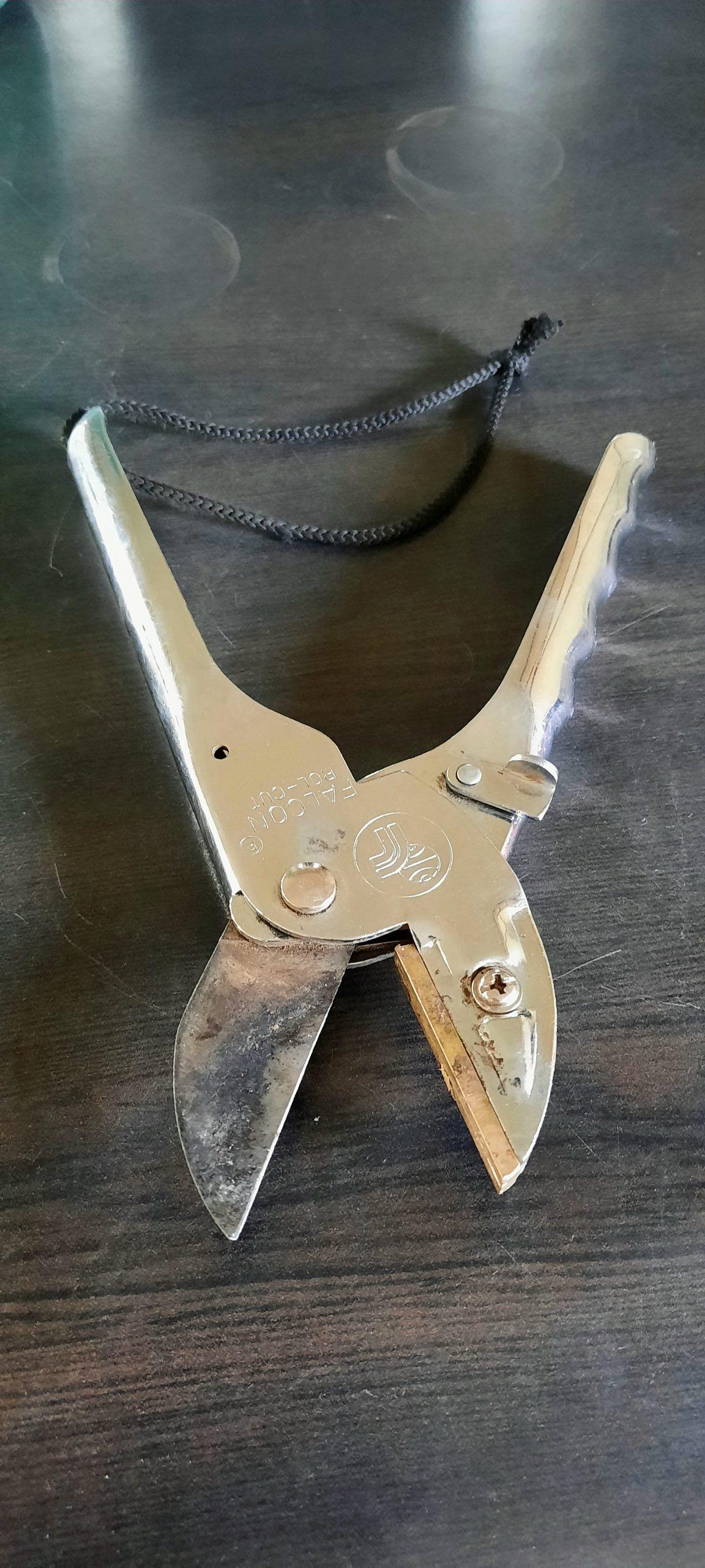 A plant cutter blade