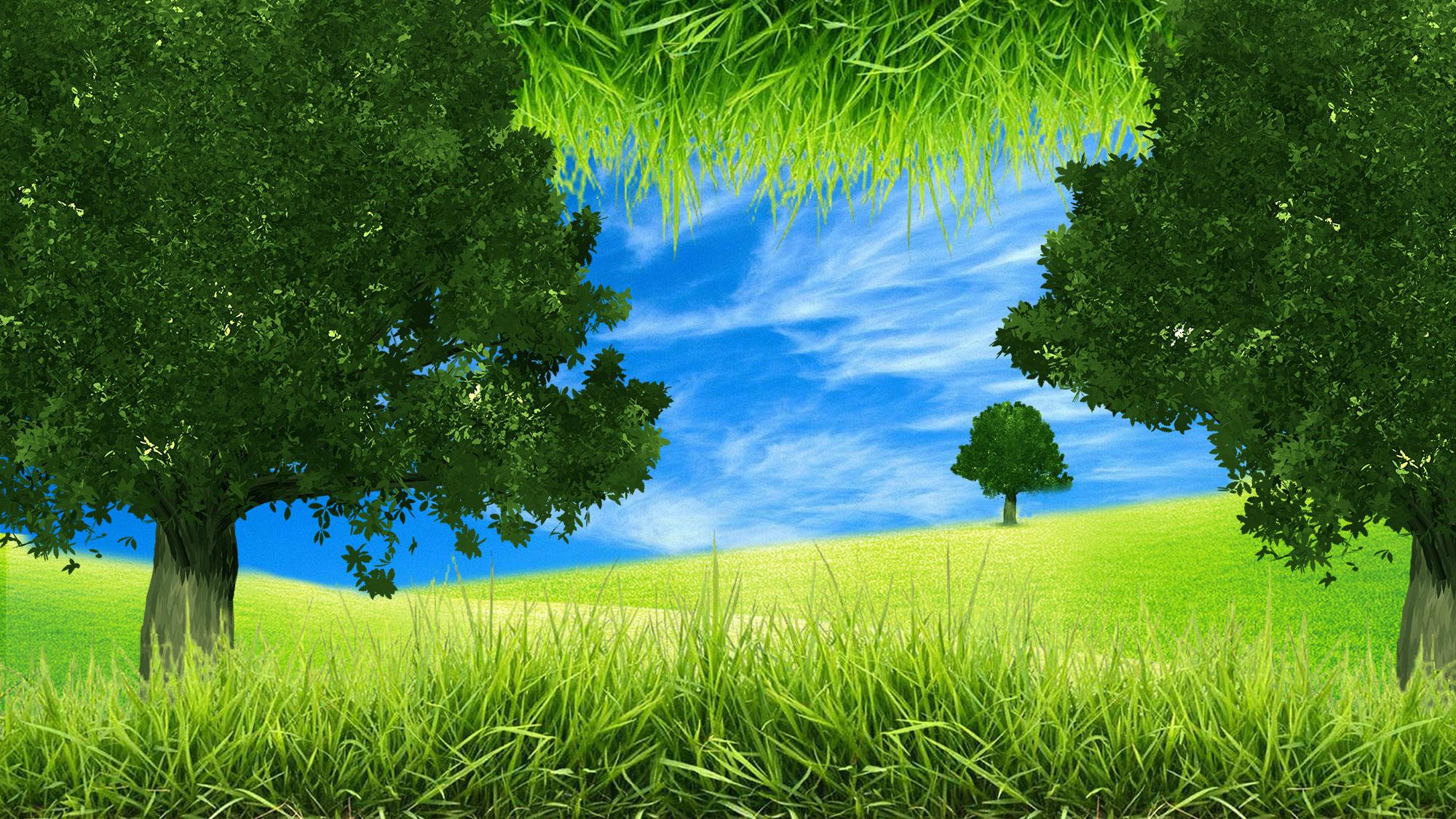 A scenery illustration