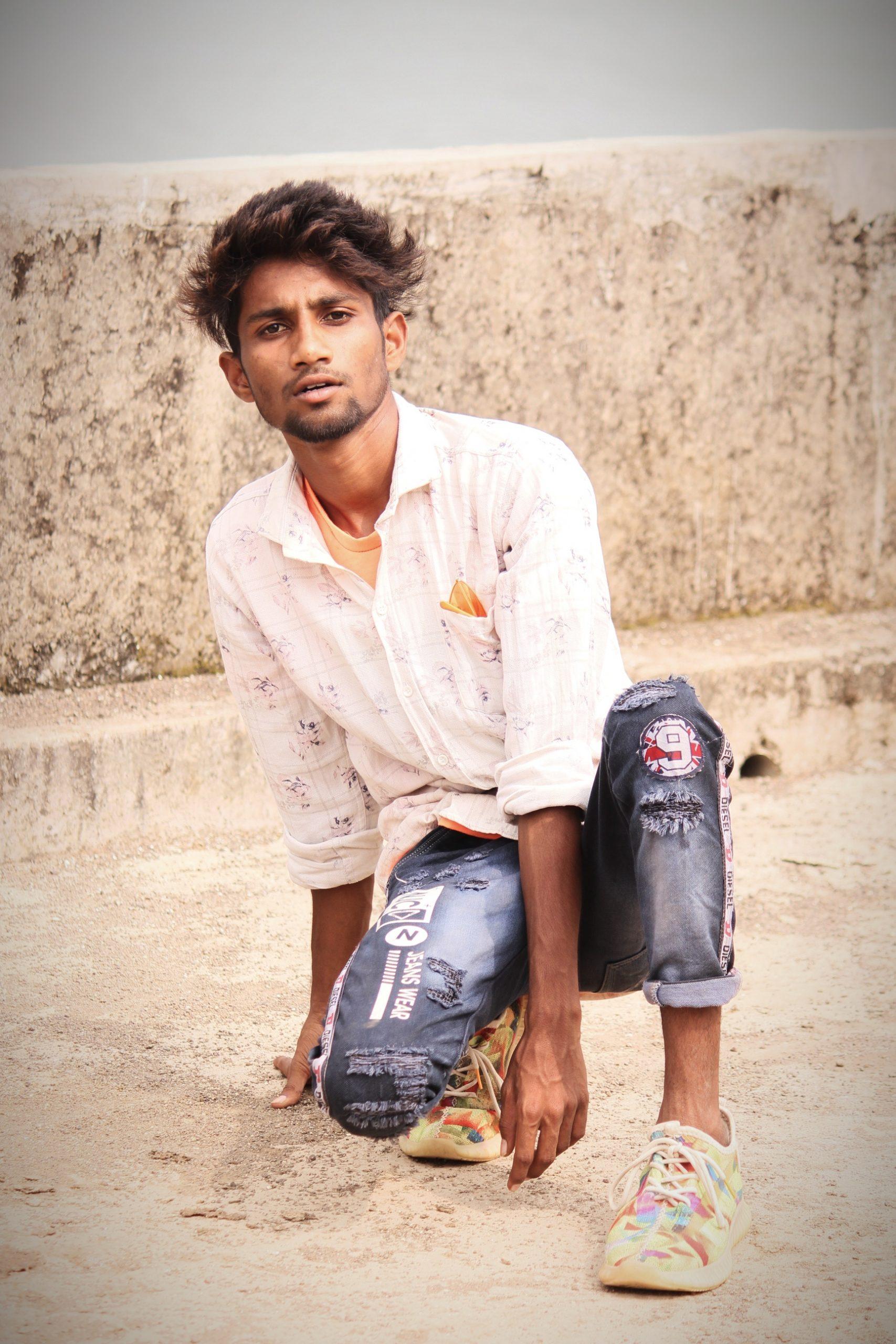 A street boy