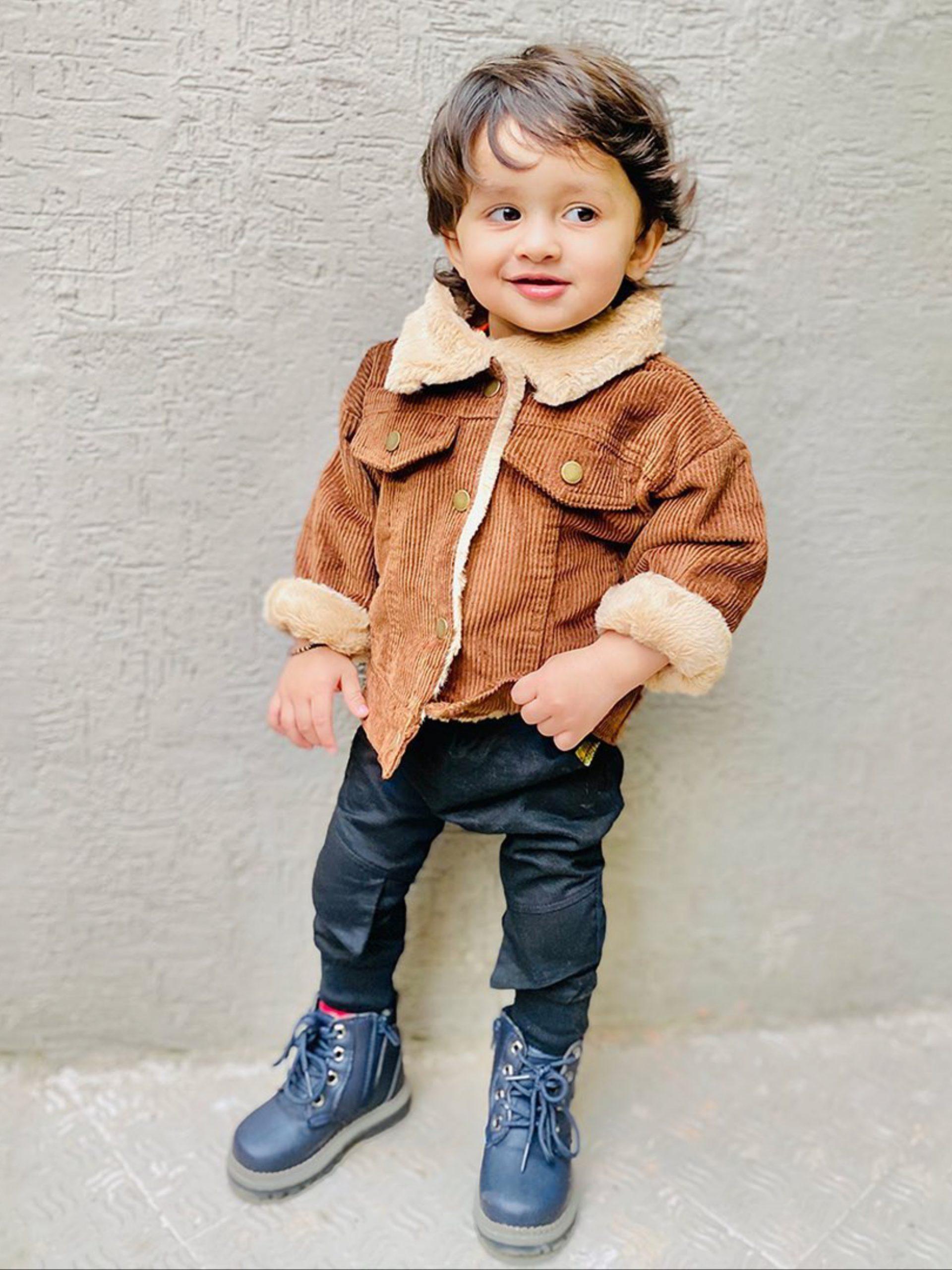 A stylish child