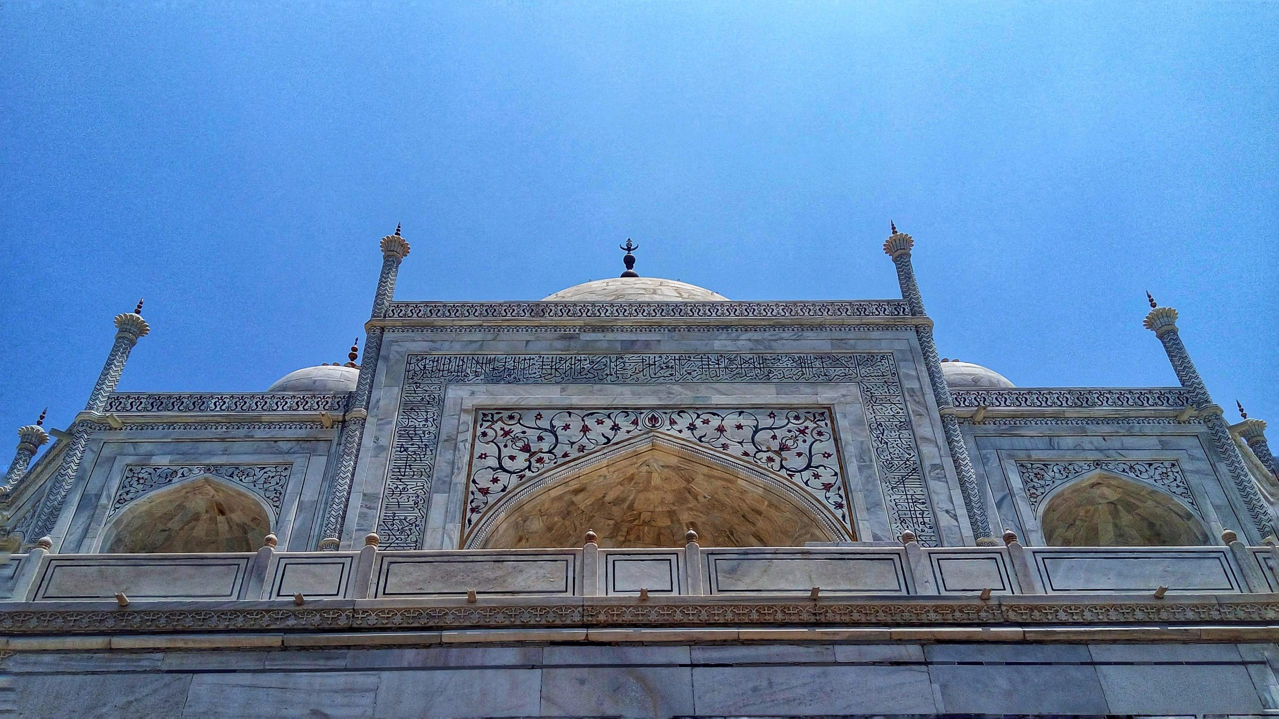 A view of Taj Mahal