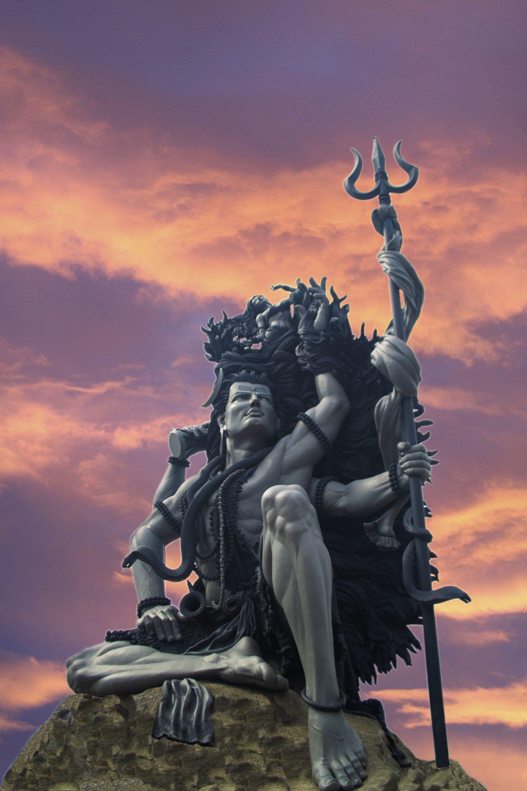 Aazhimala Lord Shiva statue