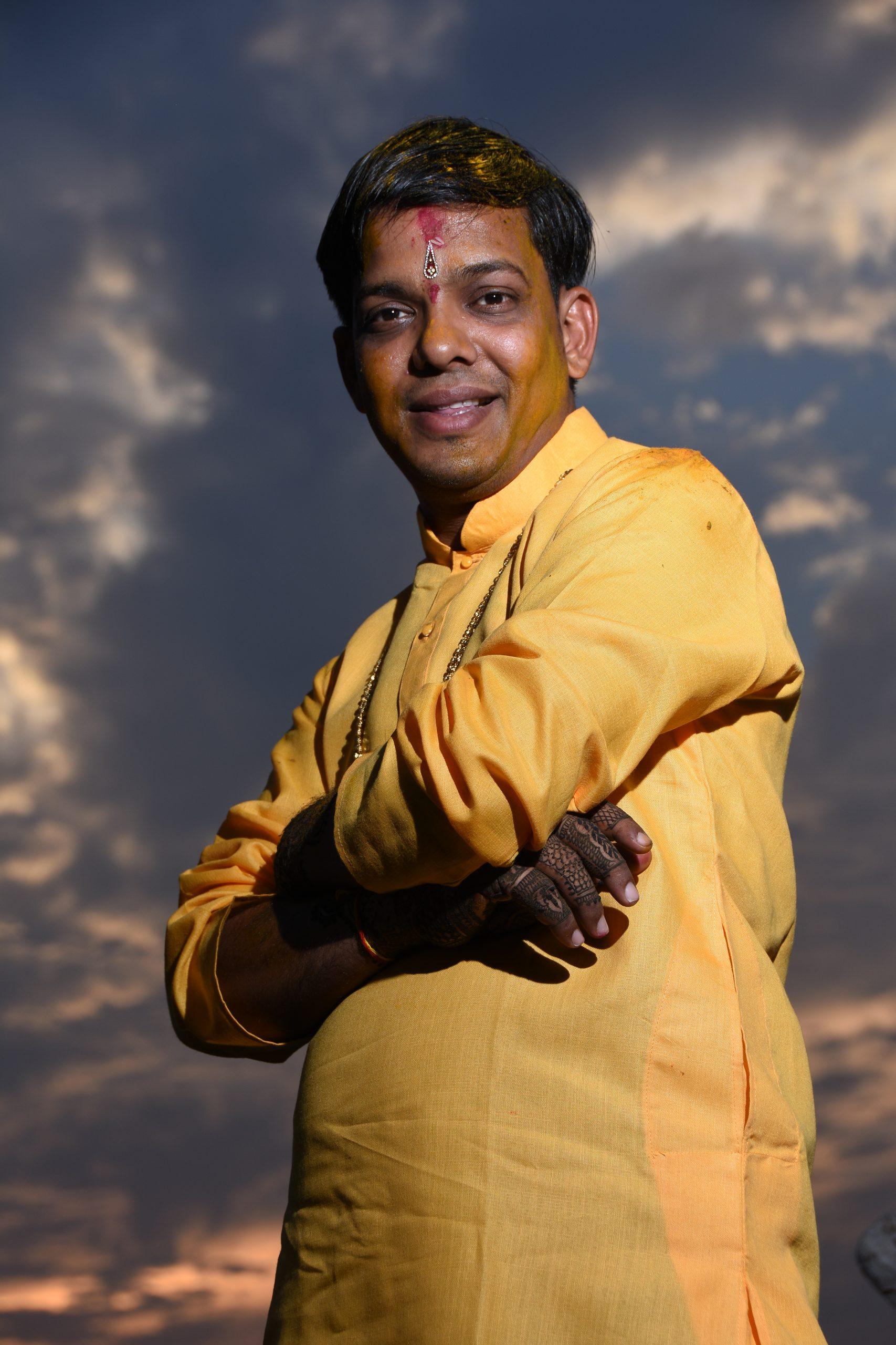 An Indian man