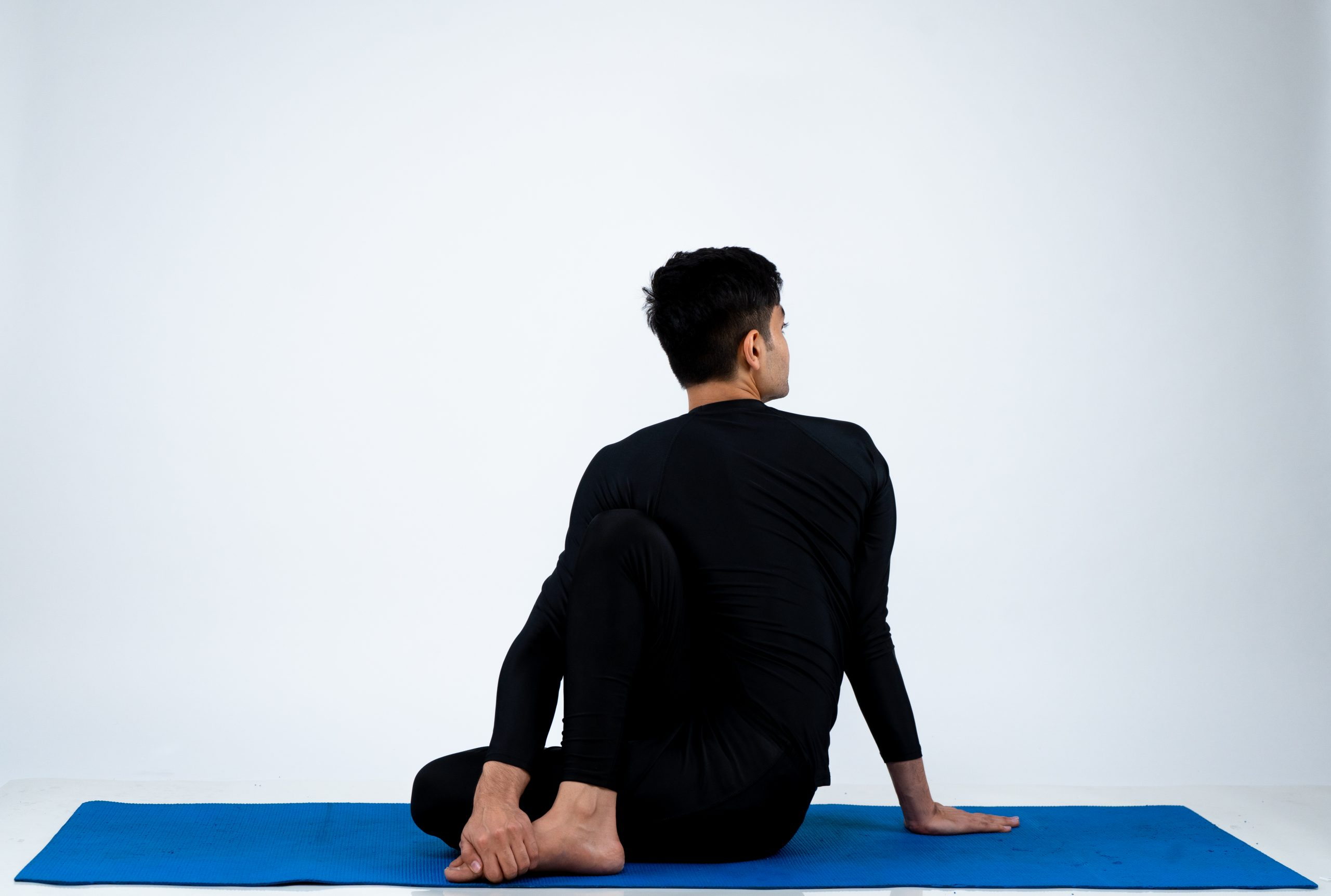 Ardha Matsyendrasana (Half Lord of The Fish Pose)