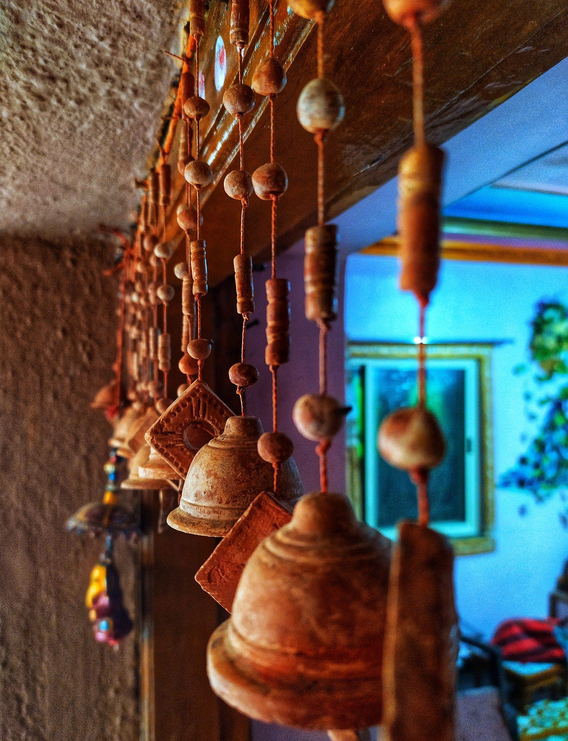 Bells on the top of house door