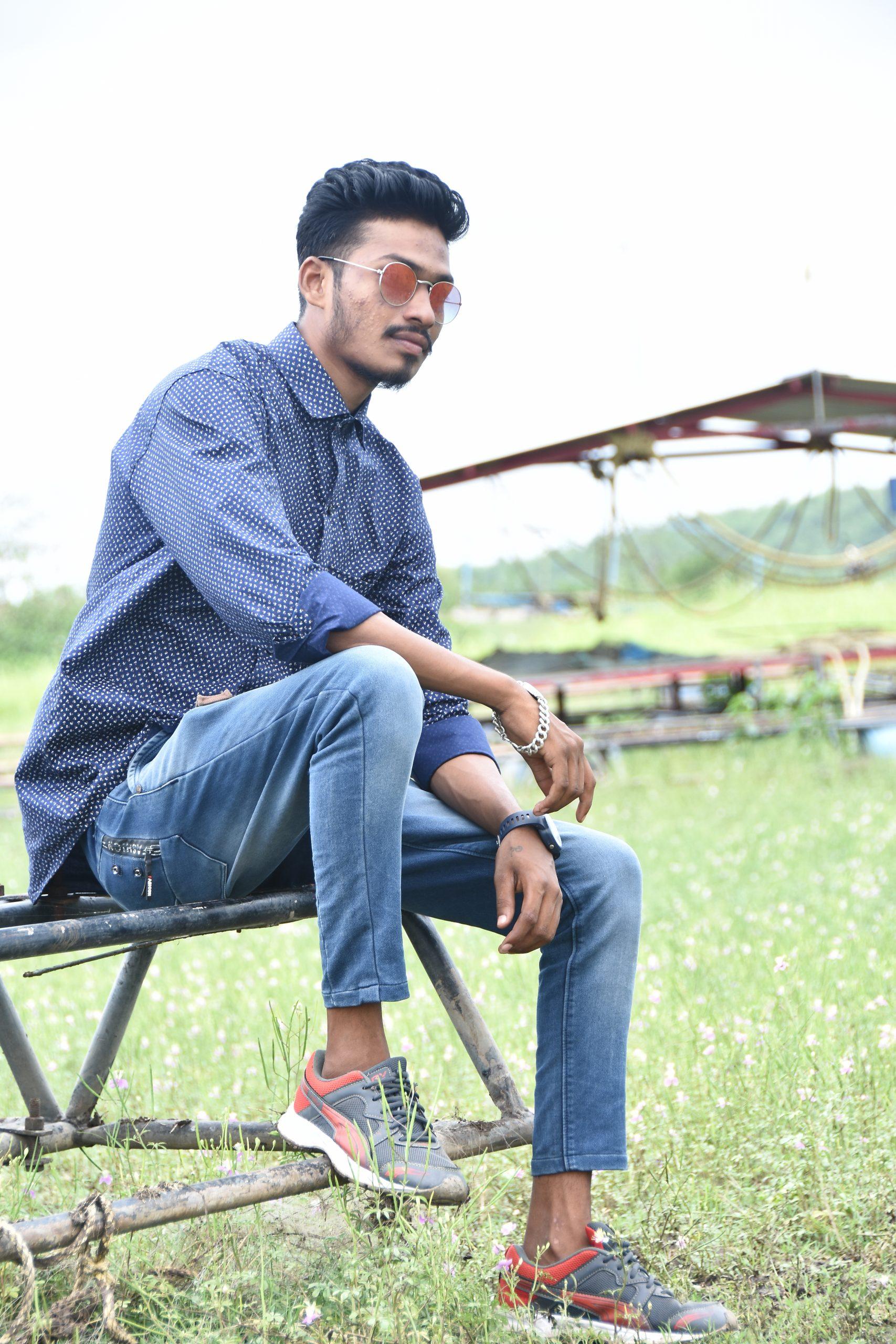 Boy in Farm