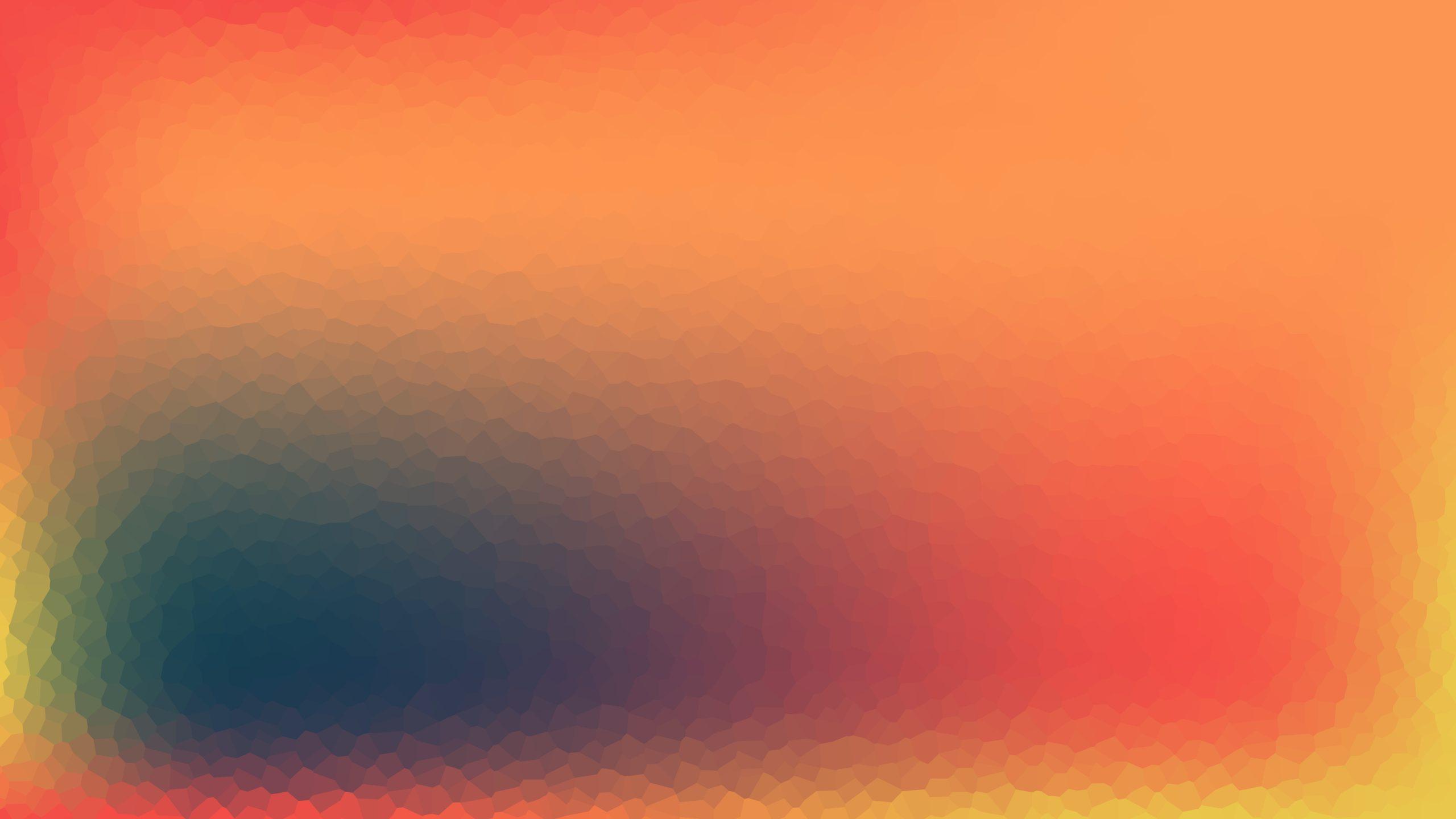 An orange color desktop wallpaper