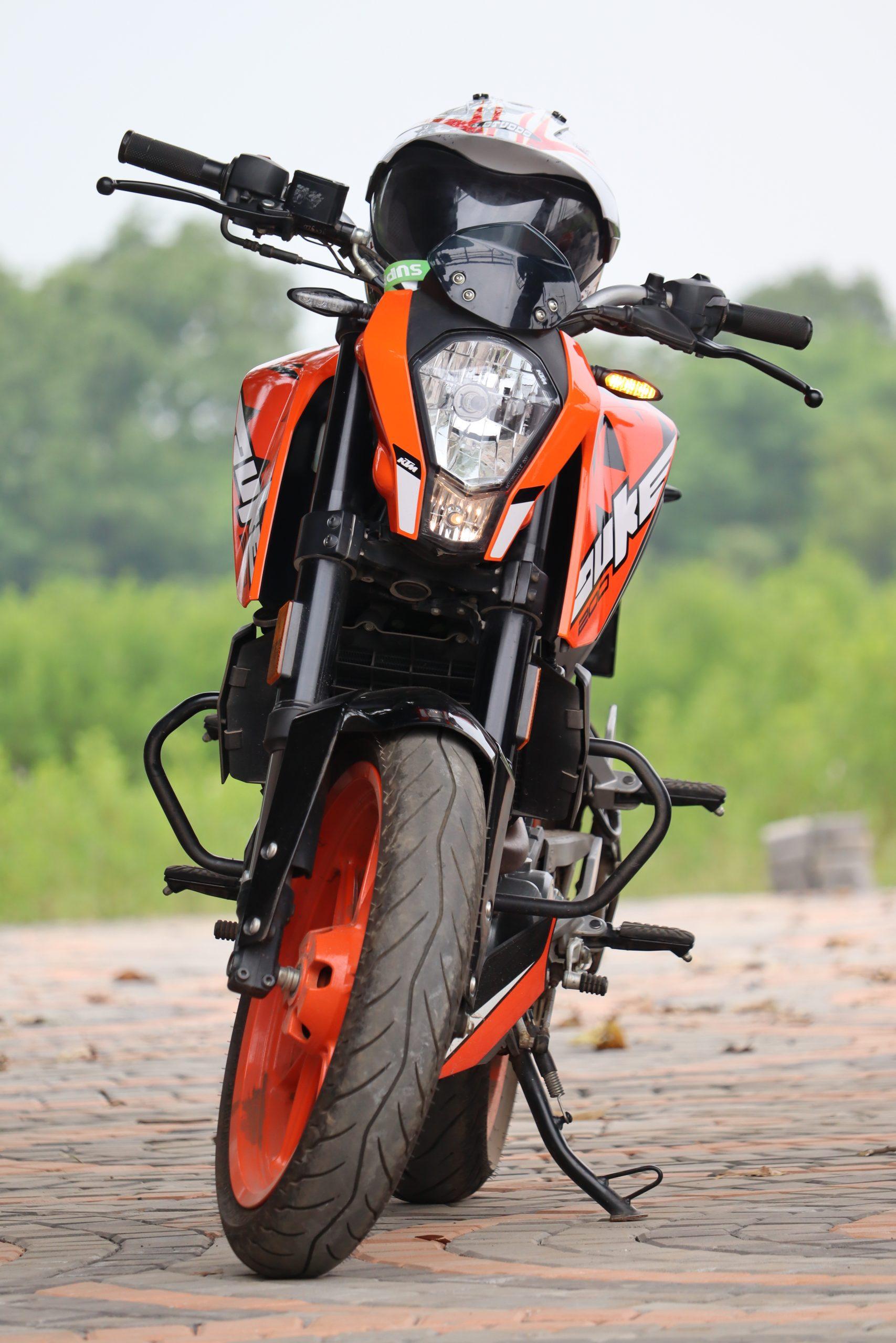 Duke KTM 200 bike