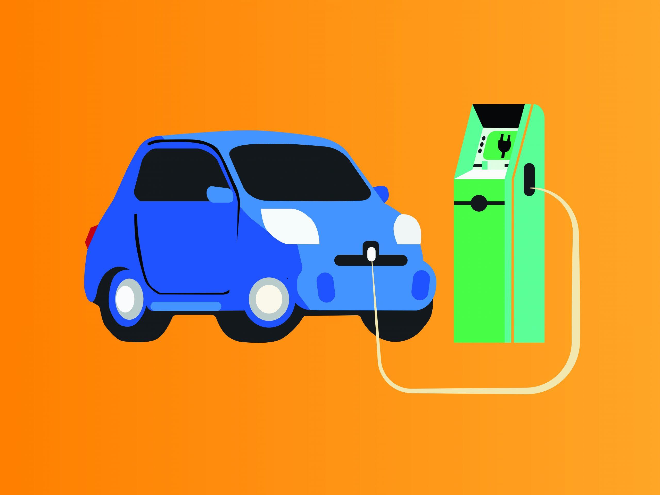 Electric-car charging