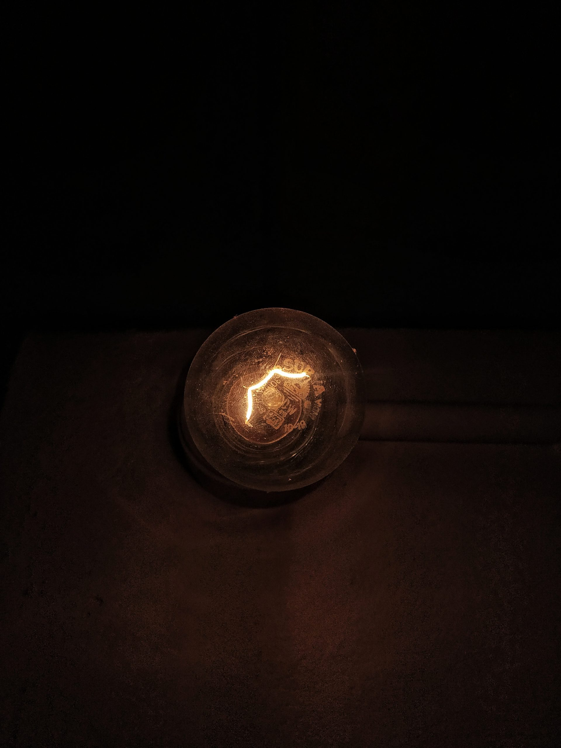 Filament of bulb