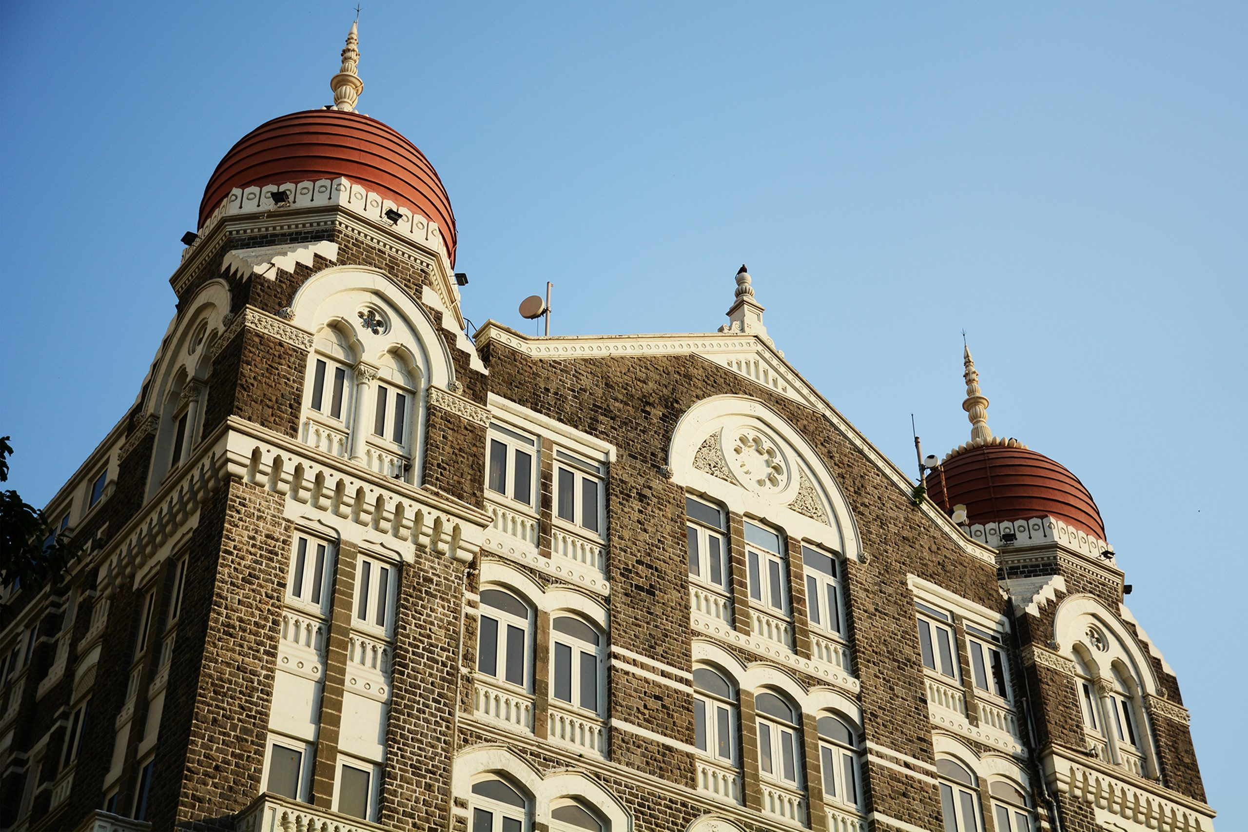 Front side of Hotel Taj Mahal Palace