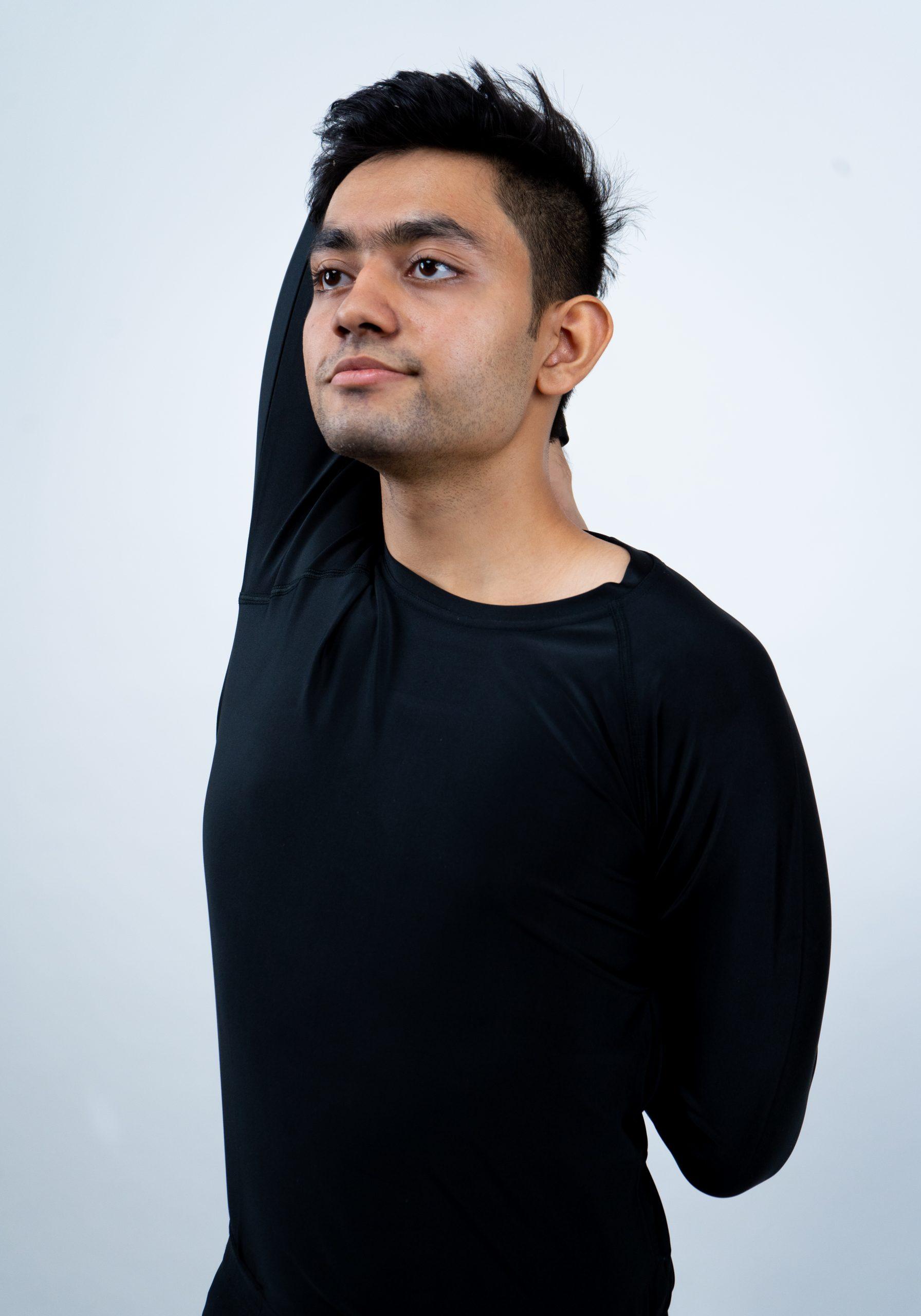 Gomukhasana (Cow Face Pose)