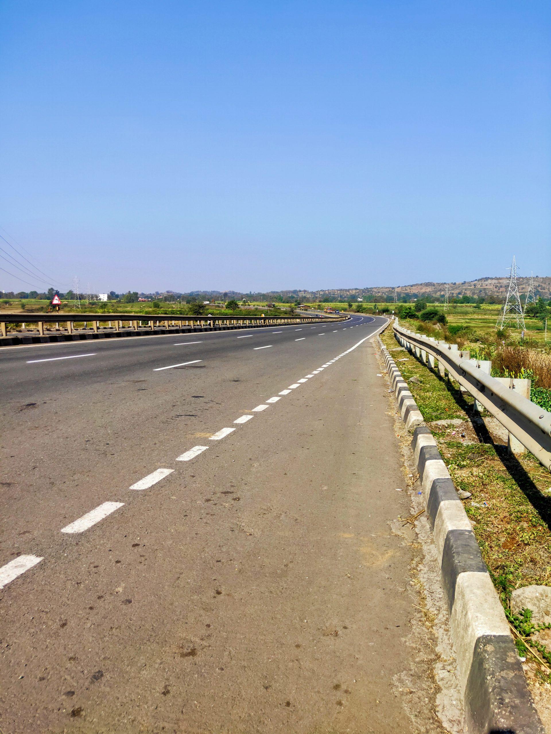 Highway landscape