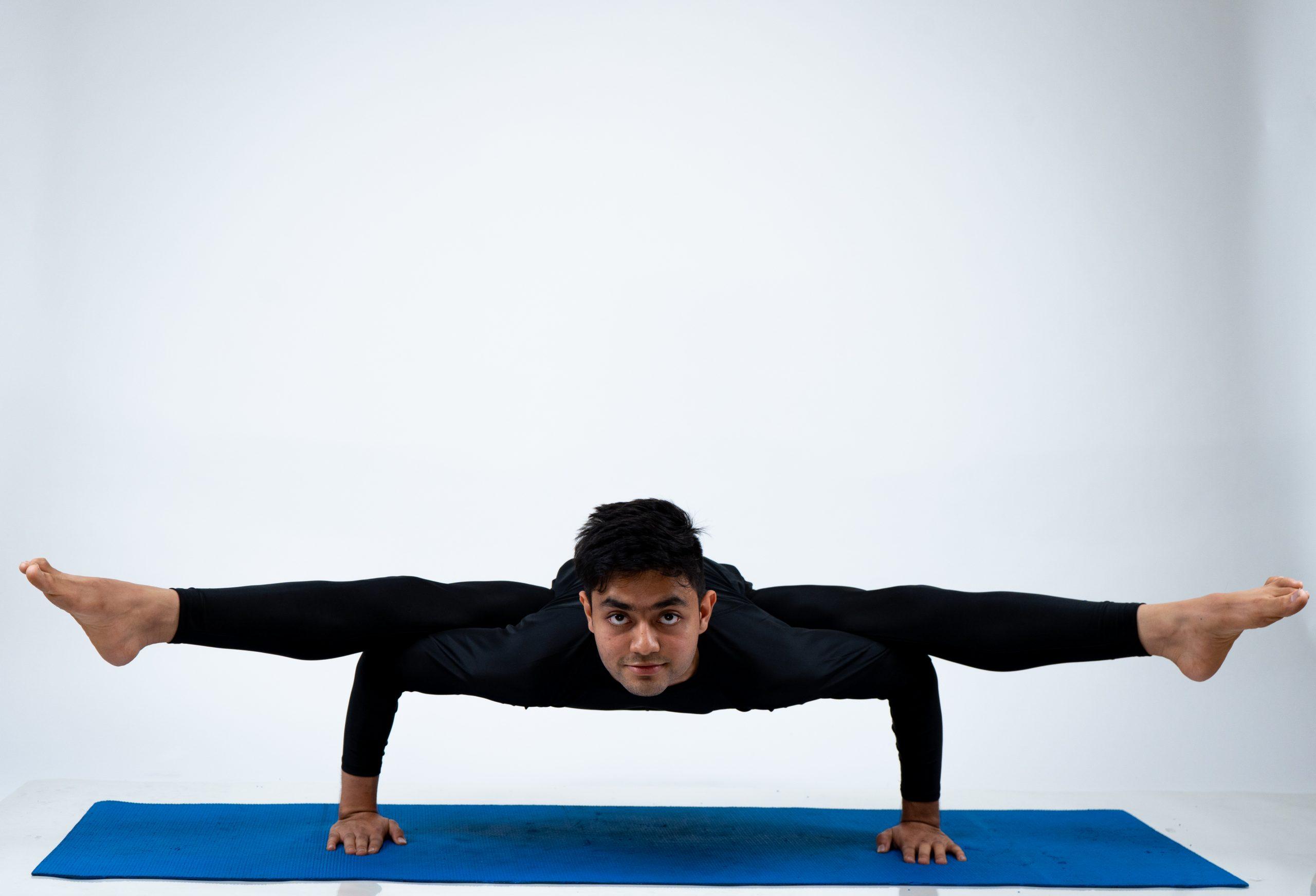 Kaundinyasana (Flying Splits Pose)