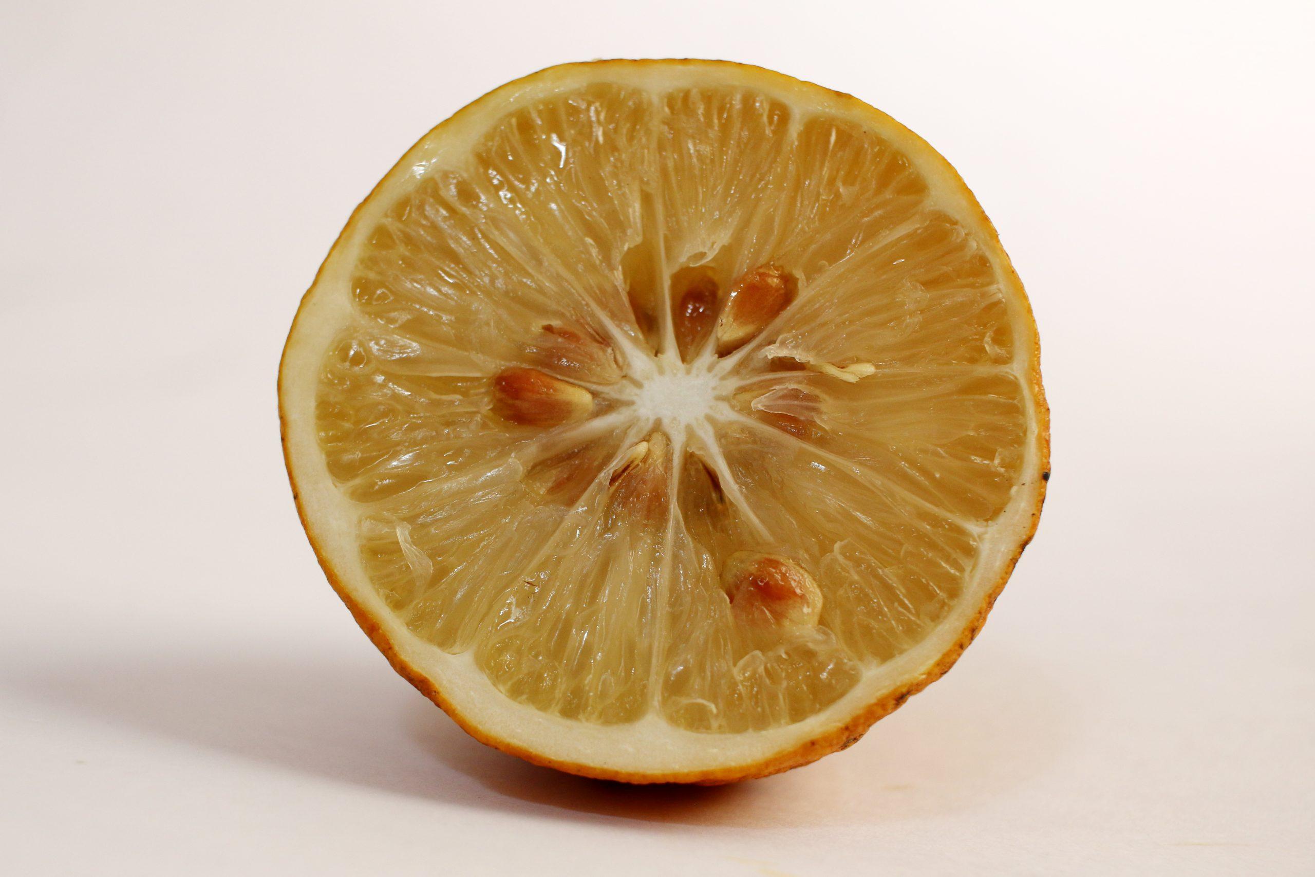 Lemon piece
