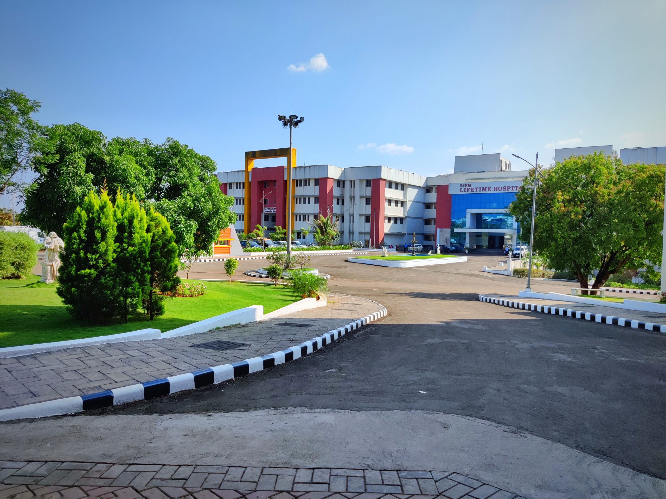 Hospital outside view