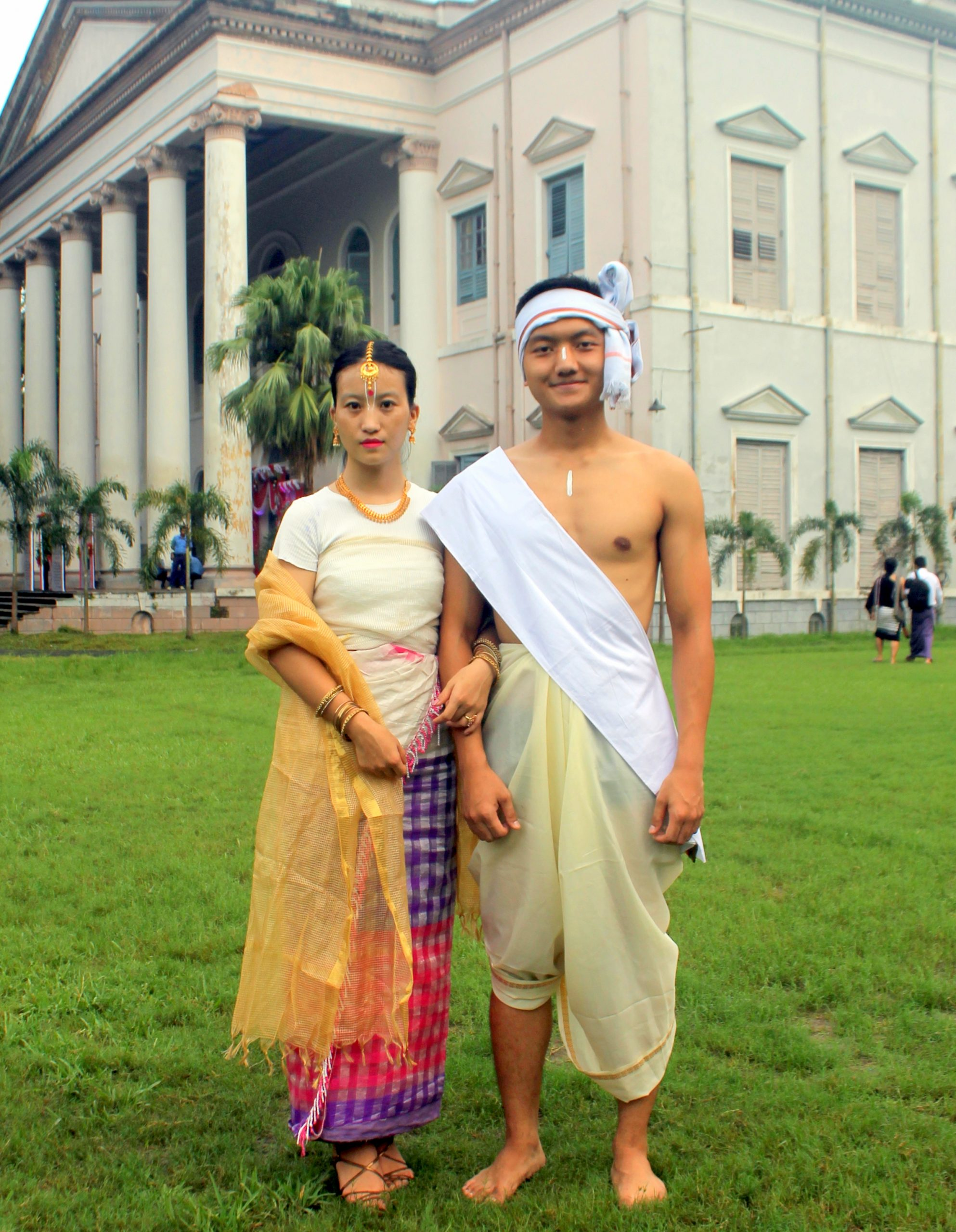 Manipur Traditional Couple